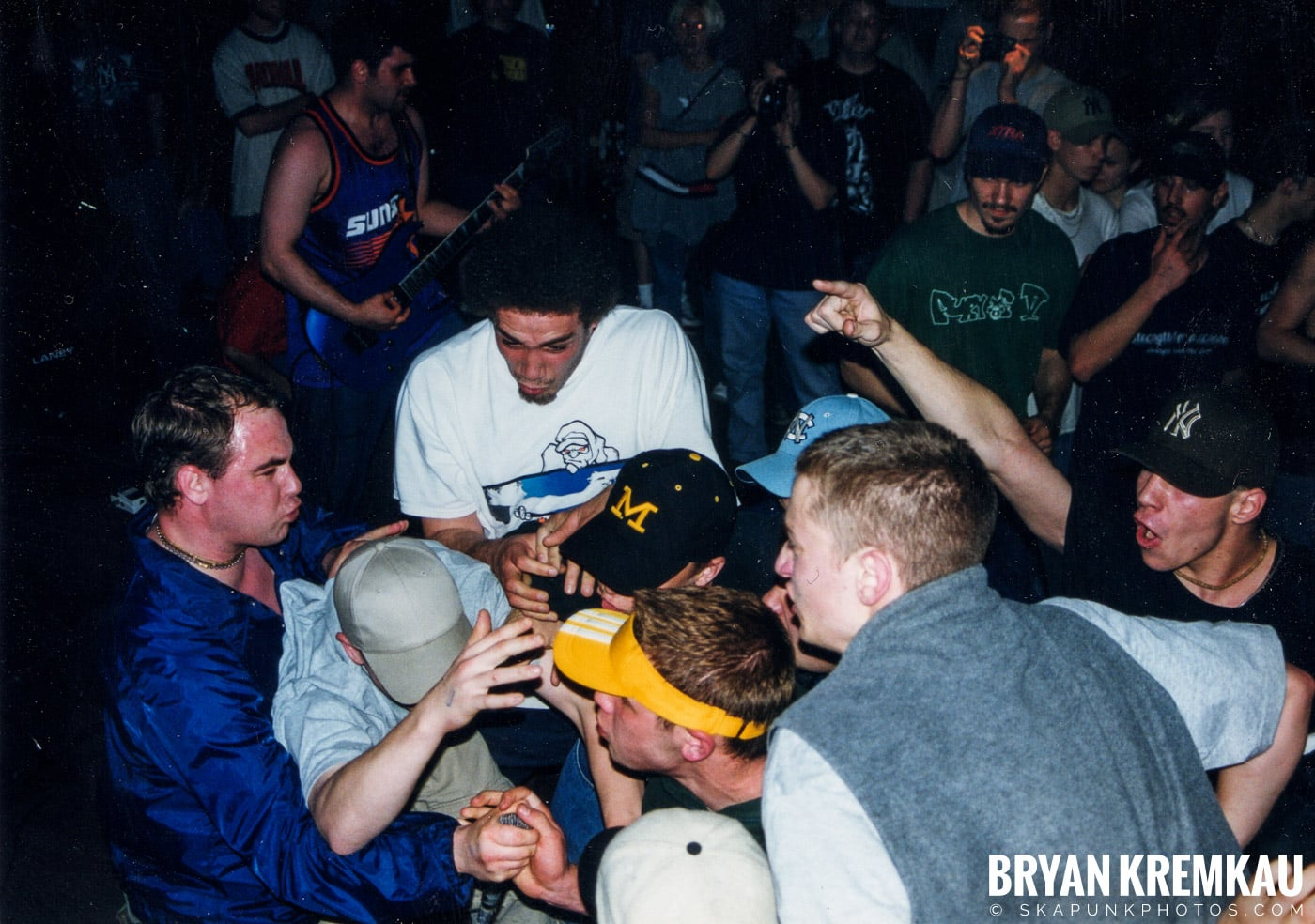 All Out War @ Sea Sea's, Moosic, PA - 5.7.99 (13)