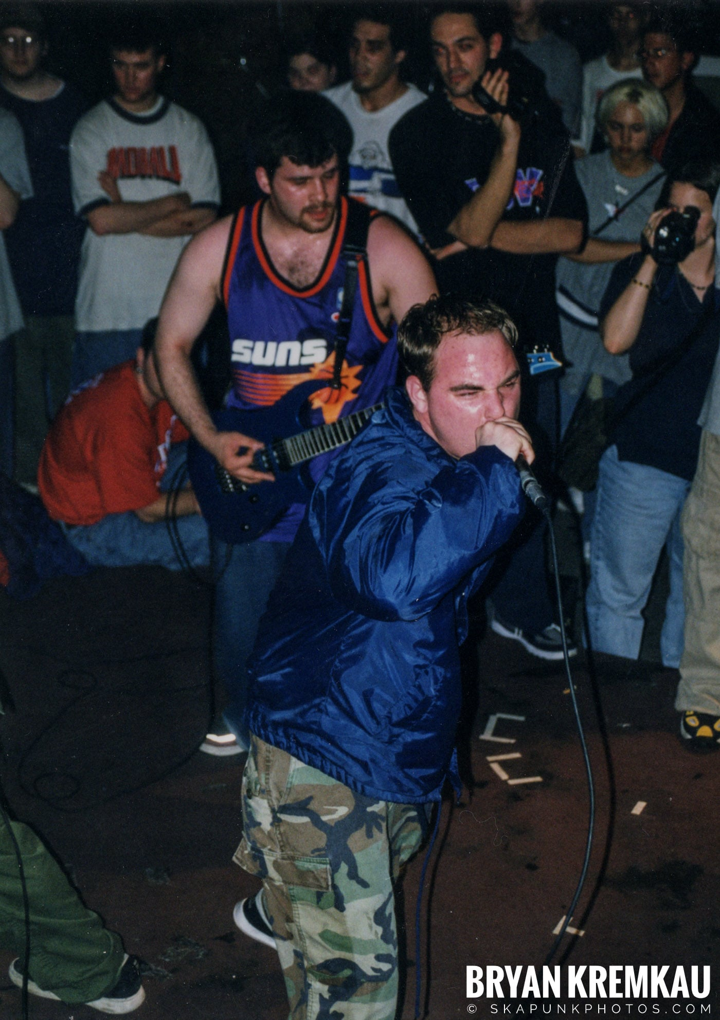 All Out War @ Sea Sea's, Moosic, PA - 5.7.99 (9)