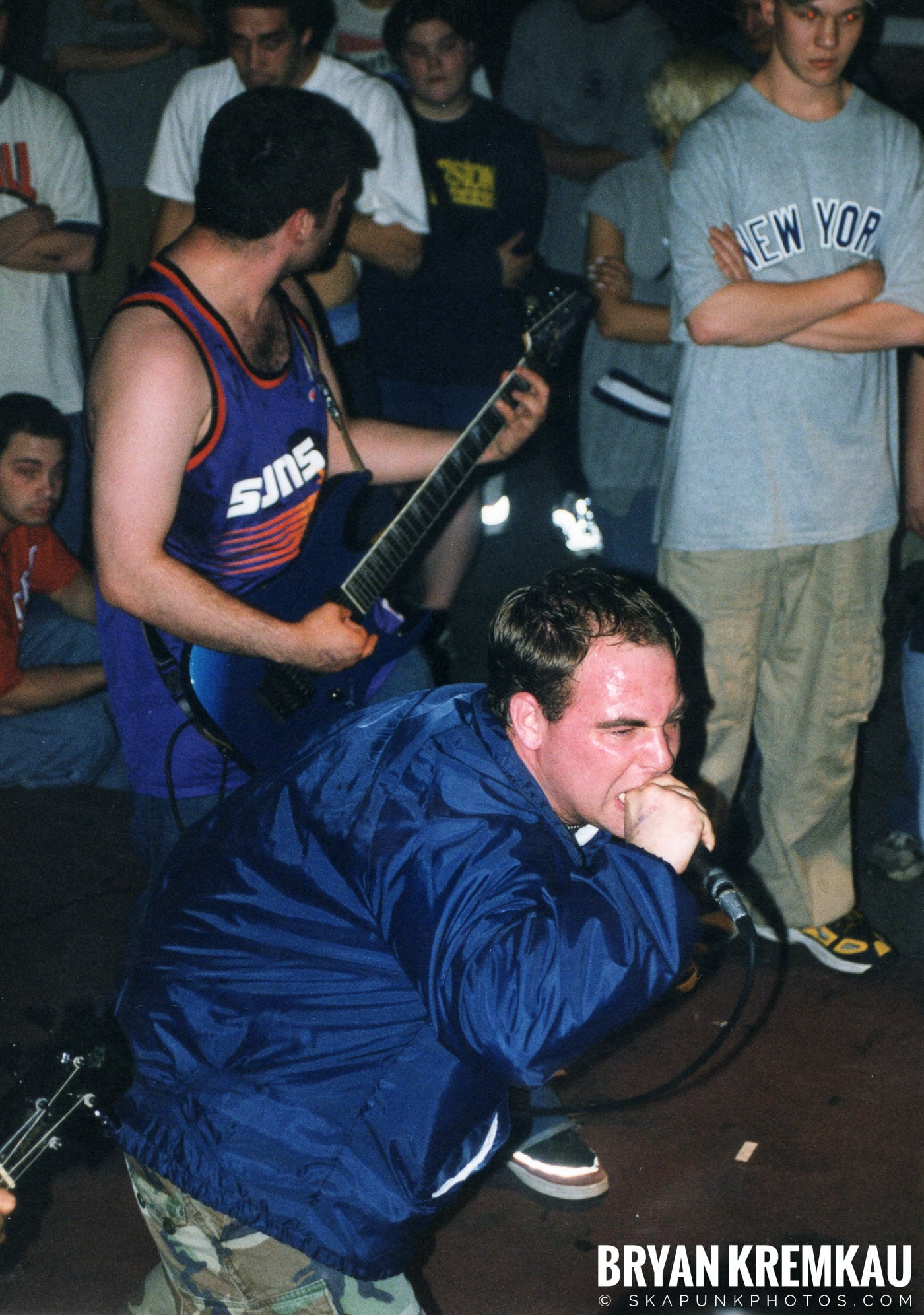 All Out War @ Sea Sea's, Moosic, PA - 5.7.99 (6)