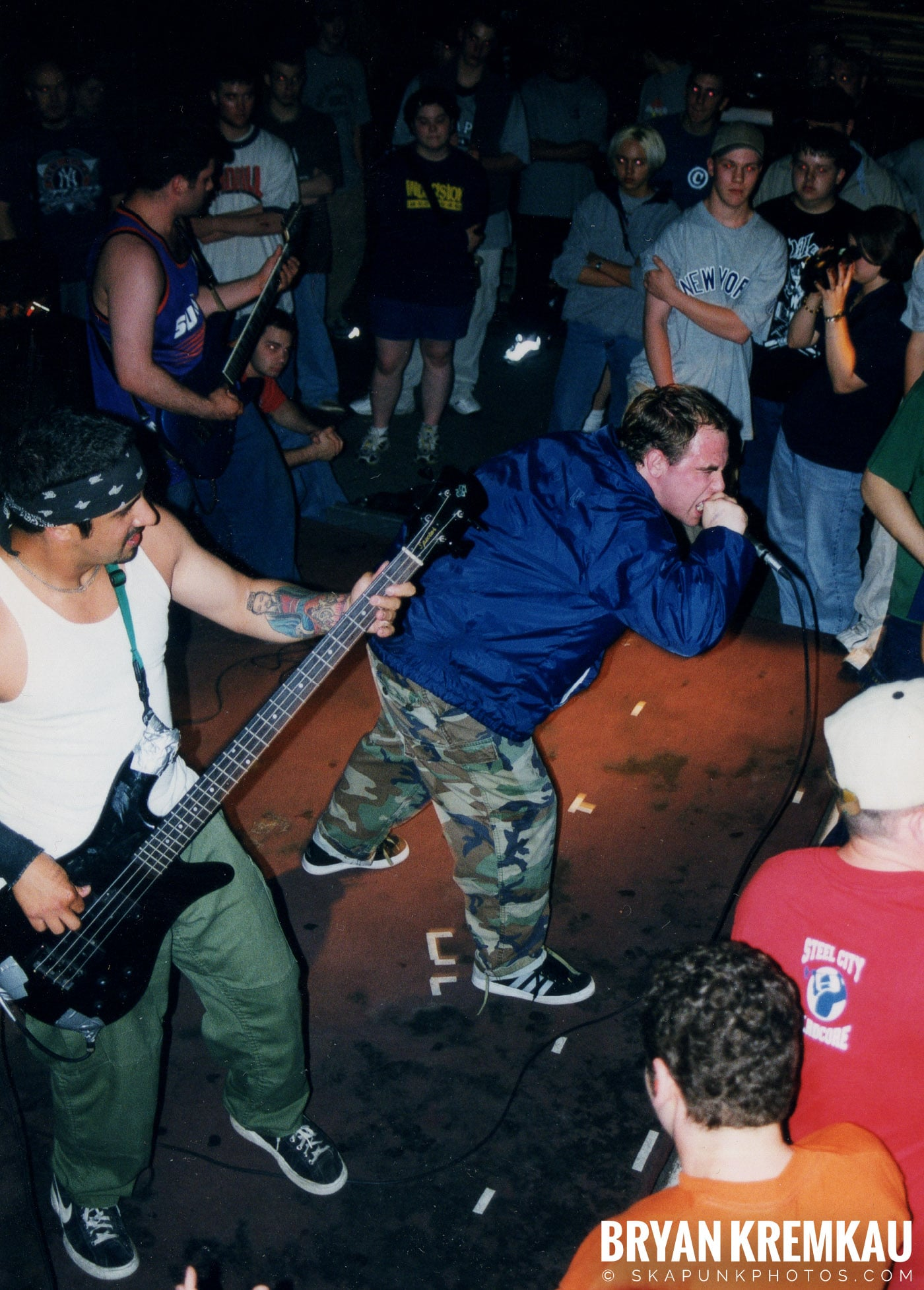 All Out War @ Sea Sea's, Moosic, PA - 5.7.99 (3)