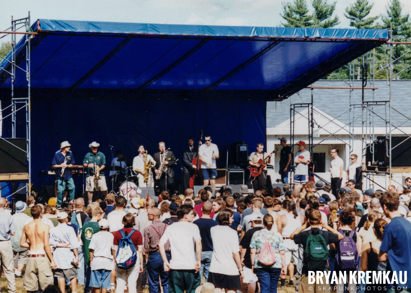 The Allstonians @ New England Ska Fest 98, Westford, MA - 8.22.98 (2)