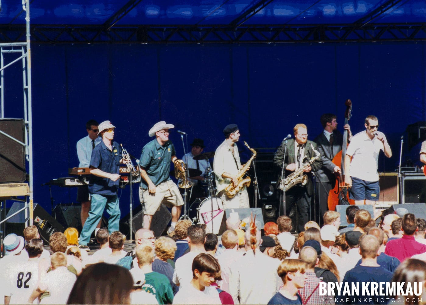 The Allstonians @ New England Ska Fest 98, Westford, MA - 8.22.98 (1)