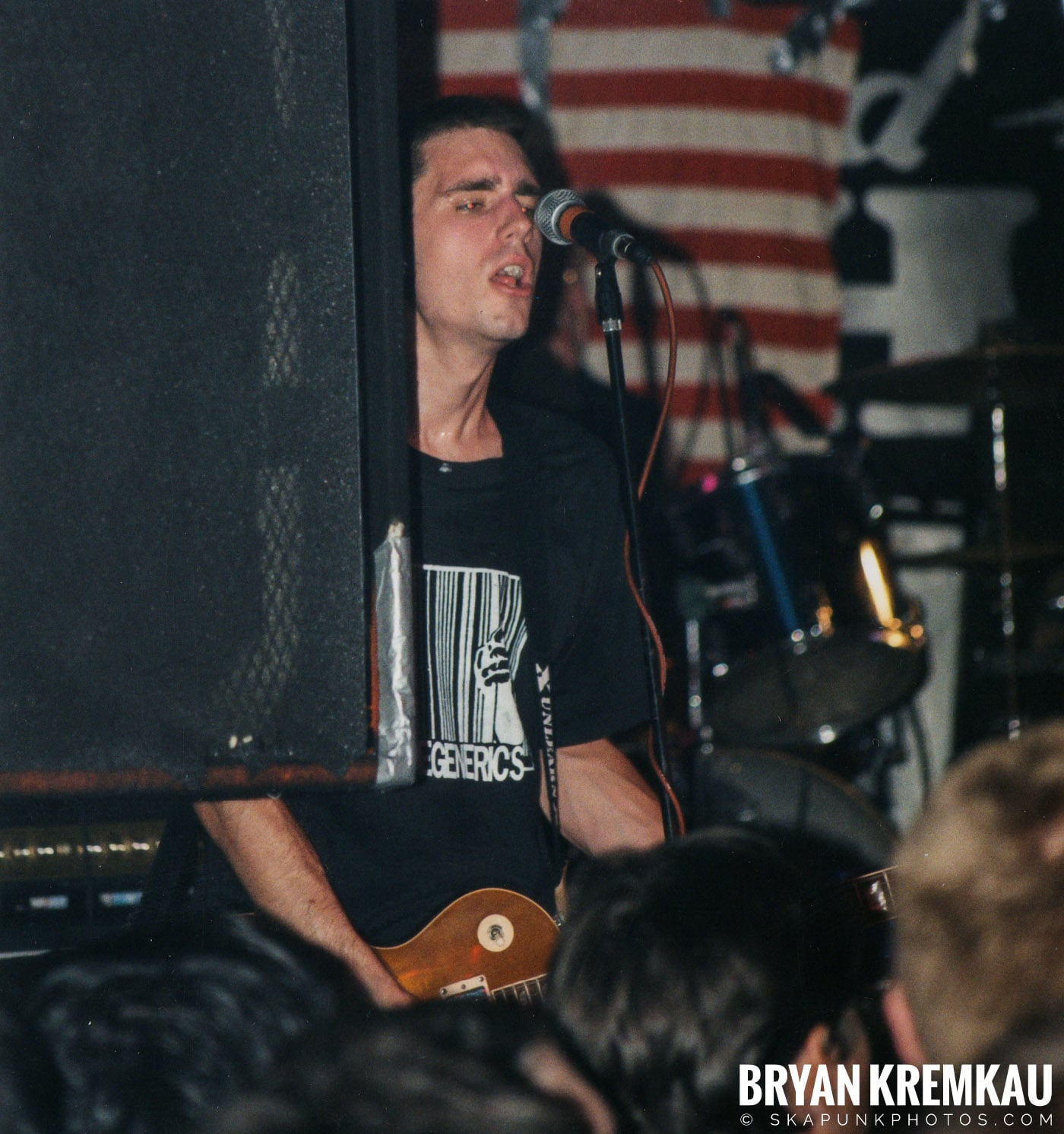 Anti-Flag @ Coney Island High, NYC - 9.10.98 (7)