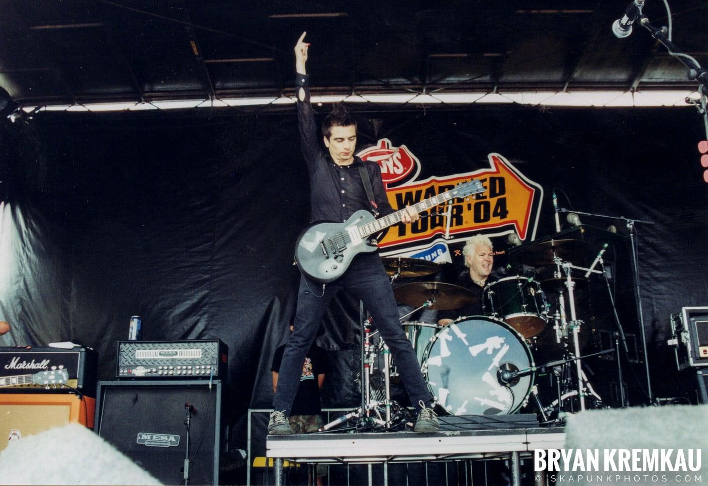 Anti-Flag @ Vans Warped Tour, Randall's Island, NYC - 8.7.04 (13)