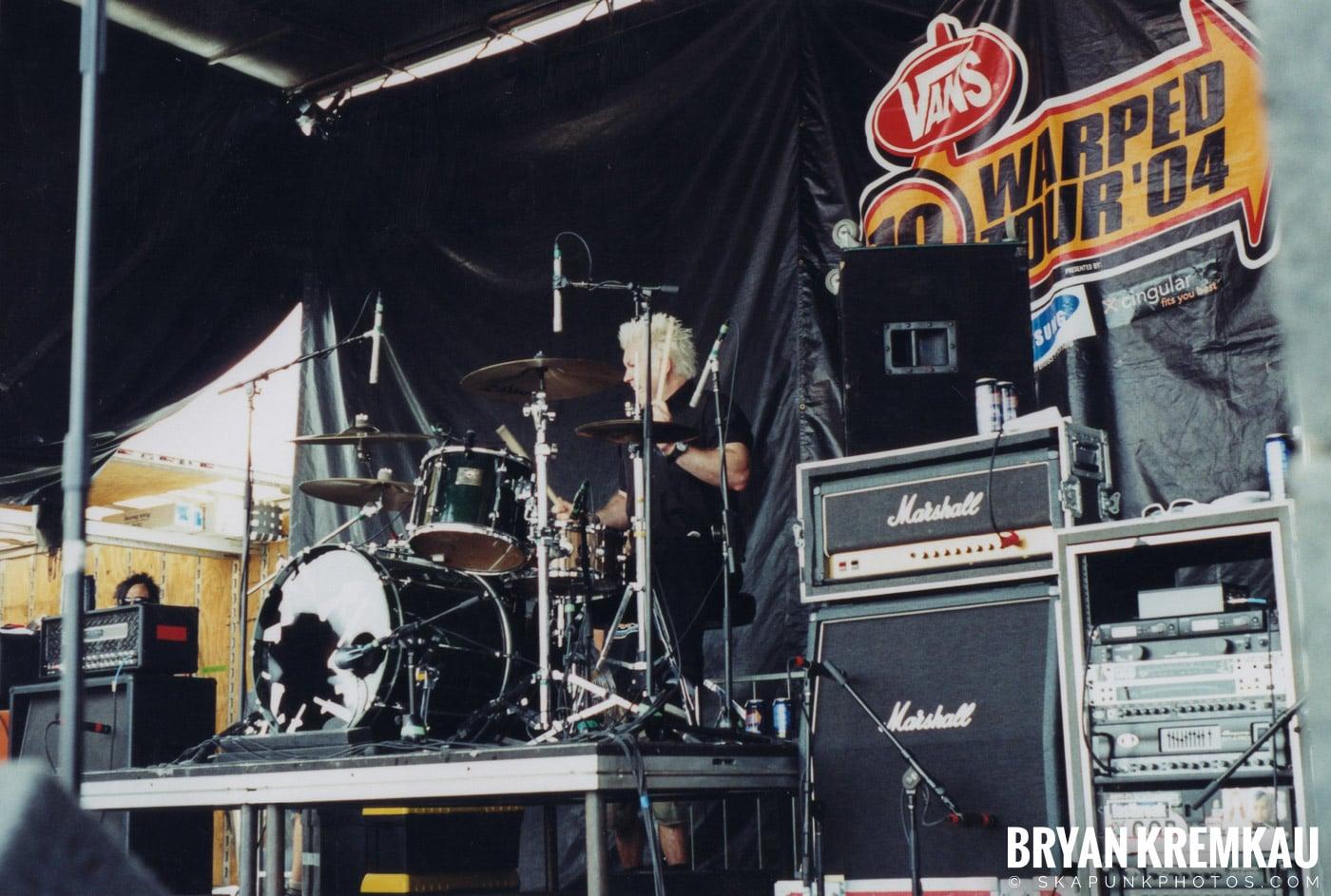Anti-Flag @ Vans Warped Tour, Randall's Island, NYC - 8.7.04 (8)