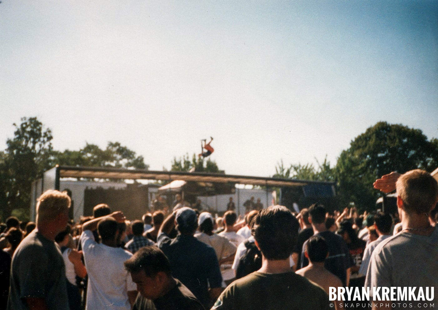 The Aquabats @ Vans Warped Tour, Randall's Island, NYC - 8.1.98 (30)