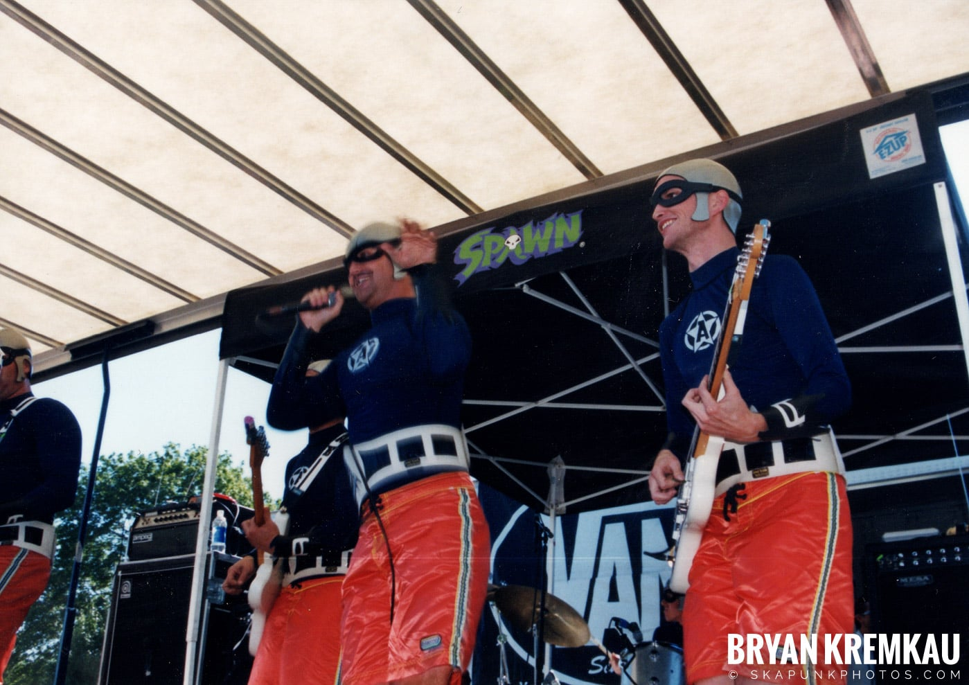 The Aquabats @ Vans Warped Tour, Randall's Island, NYC - 8.1.98 (29)