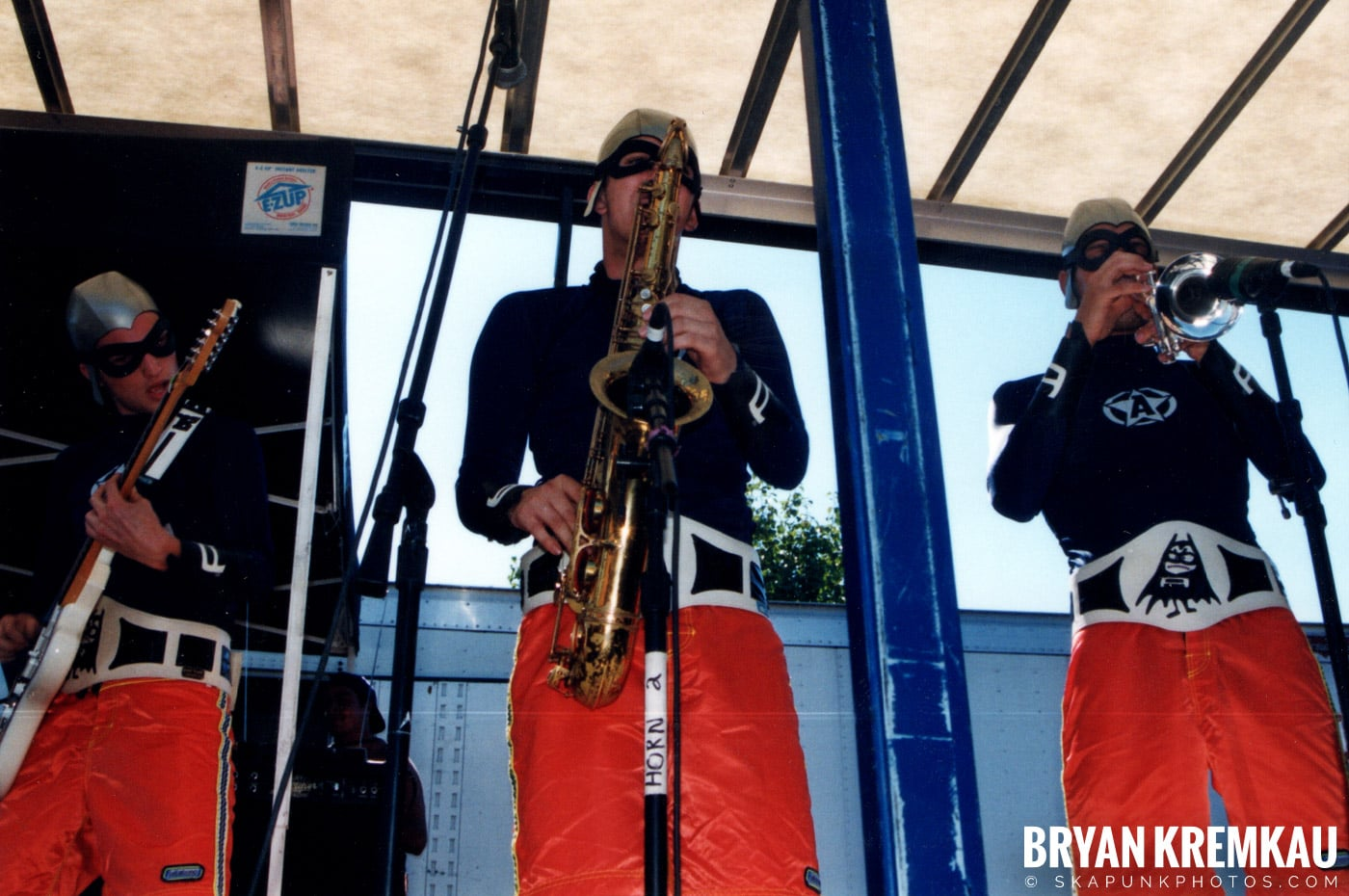 The Aquabats @ Vans Warped Tour, Randall's Island, NYC - 8.1.98 (28)