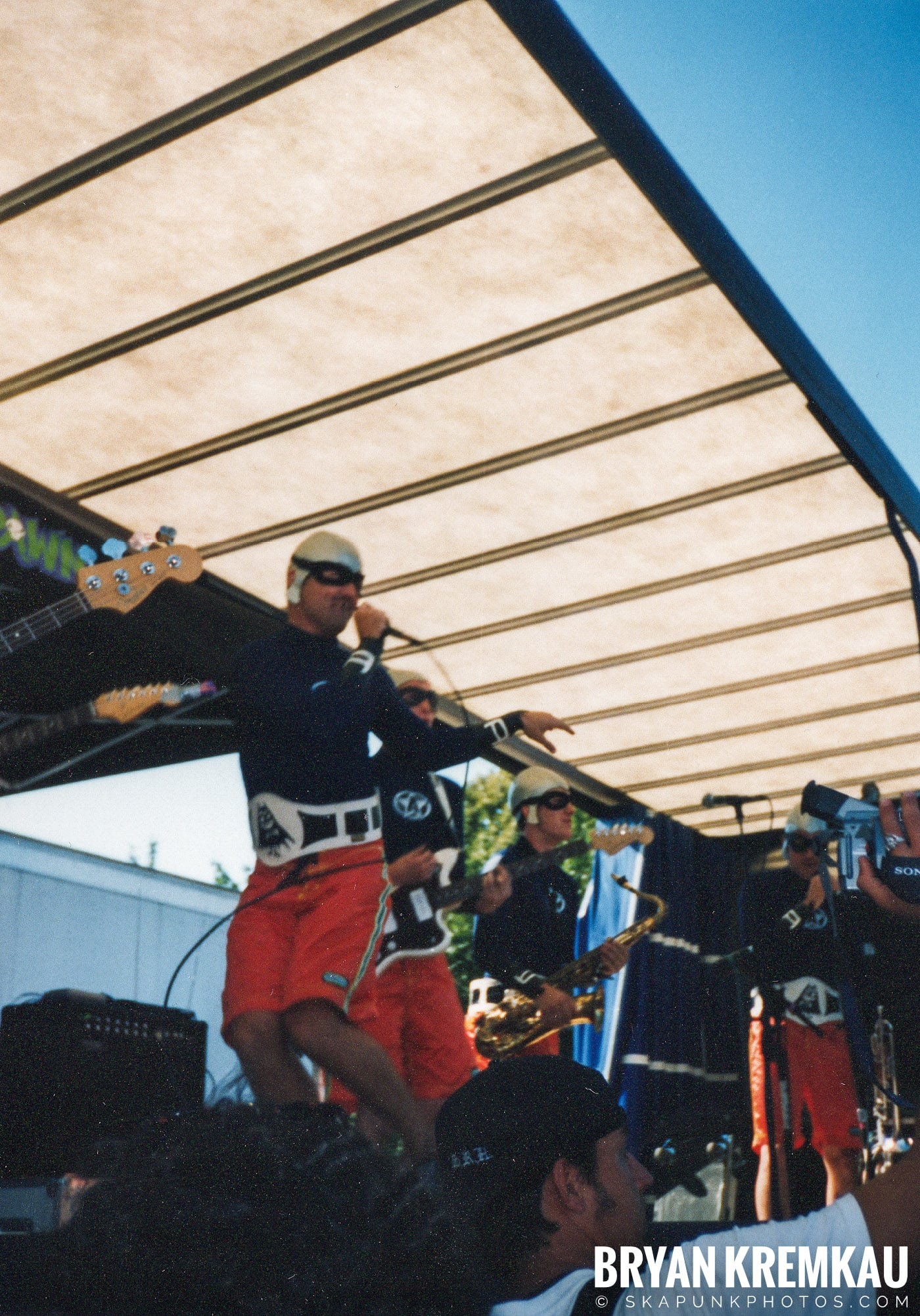The Aquabats @ Vans Warped Tour, Randall's Island, NYC - 8.1.98 (27)