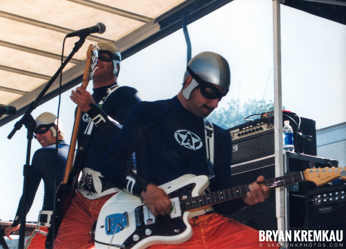 The Aquabats @ Vans Warped Tour, Randall's Island, NYC - 8.1.98 (26)