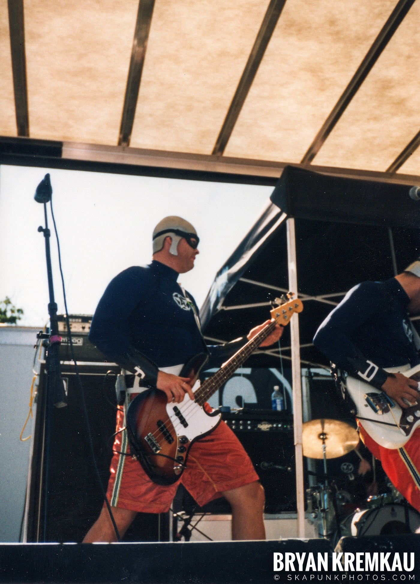 The Aquabats @ Vans Warped Tour, Randall's Island, NYC - 8.1.98 (24)