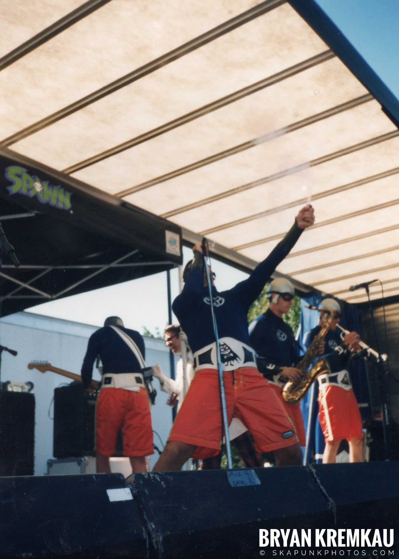 The Aquabats @ Vans Warped Tour, Randall's Island, NYC - 8.1.98 (23)
