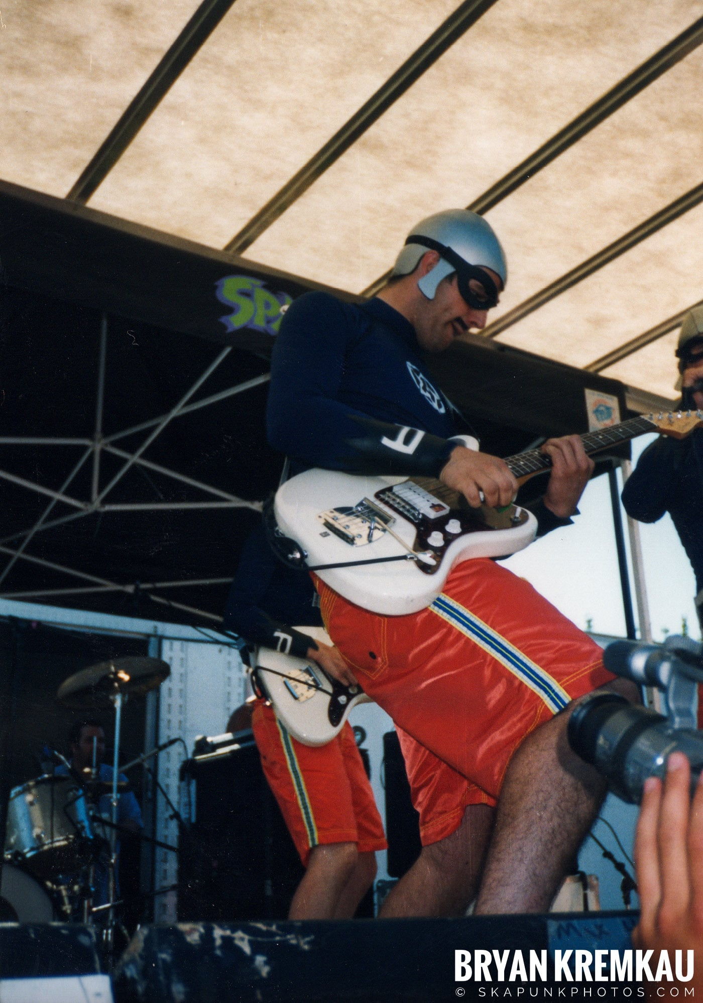 The Aquabats @ Vans Warped Tour, Randall's Island, NYC - 8.1.98 (22)