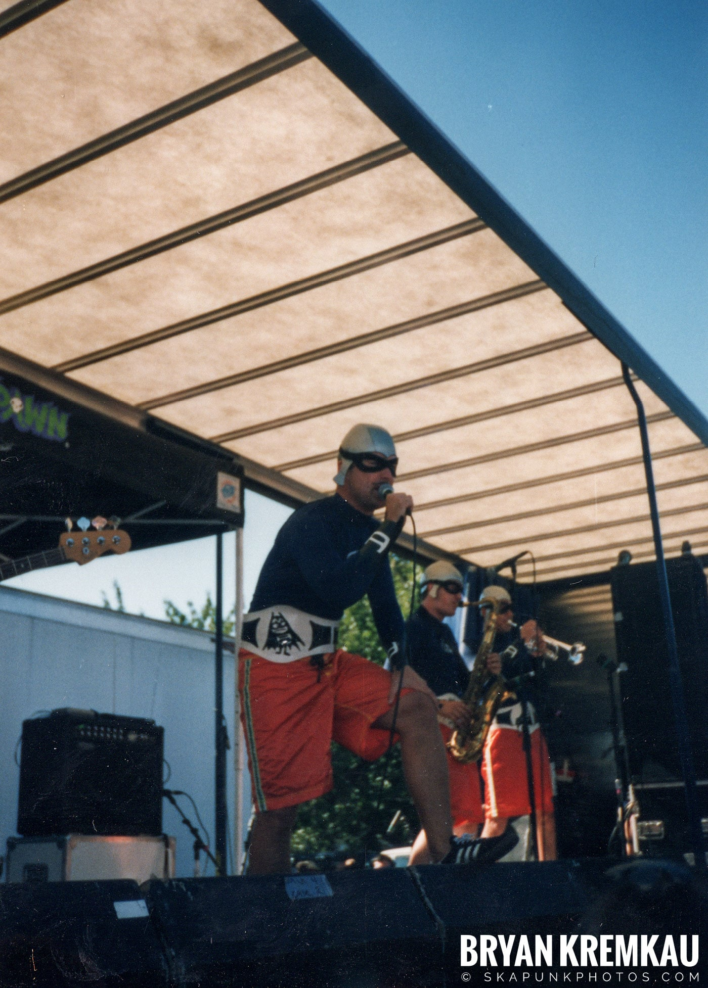 The Aquabats @ Vans Warped Tour, Randall's Island, NYC - 8.1.98 (20)