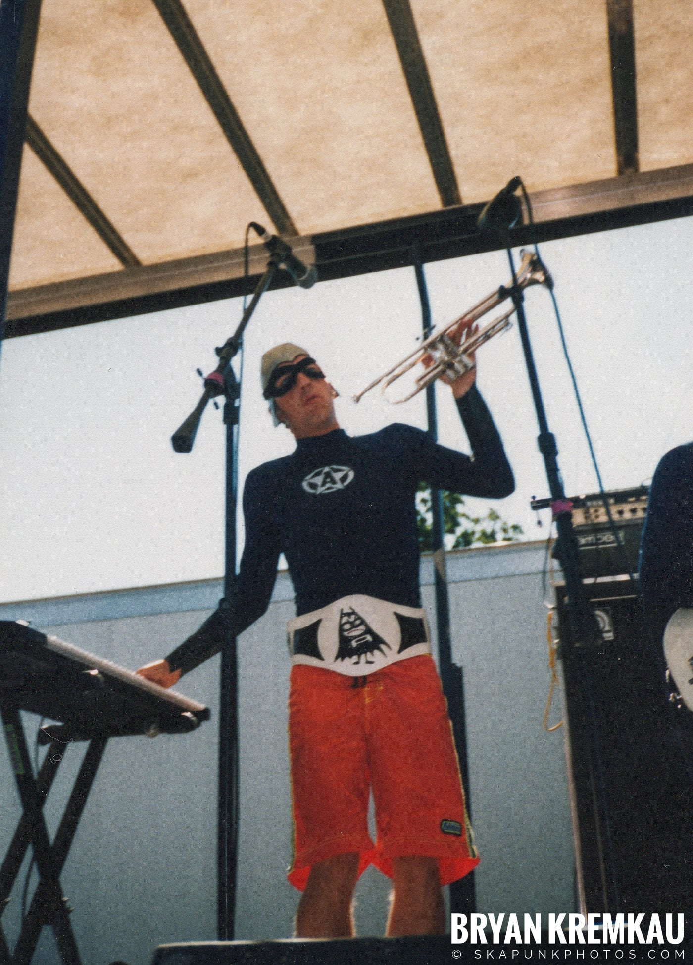 The Aquabats @ Vans Warped Tour, Randall's Island, NYC - 8.1.98 (19)