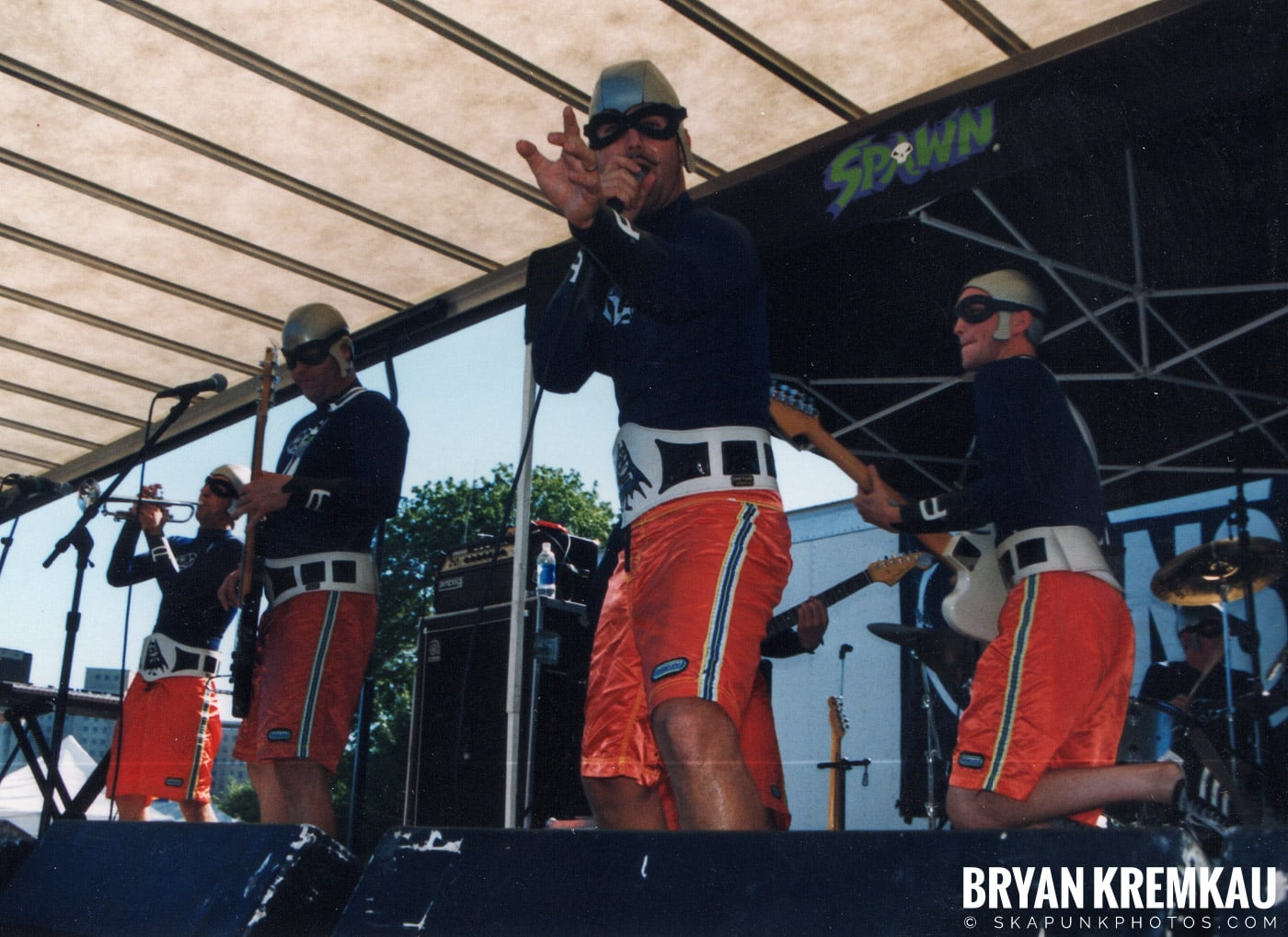 The Aquabats @ Vans Warped Tour, Randall's Island, NYC - 8.1.98 (18)