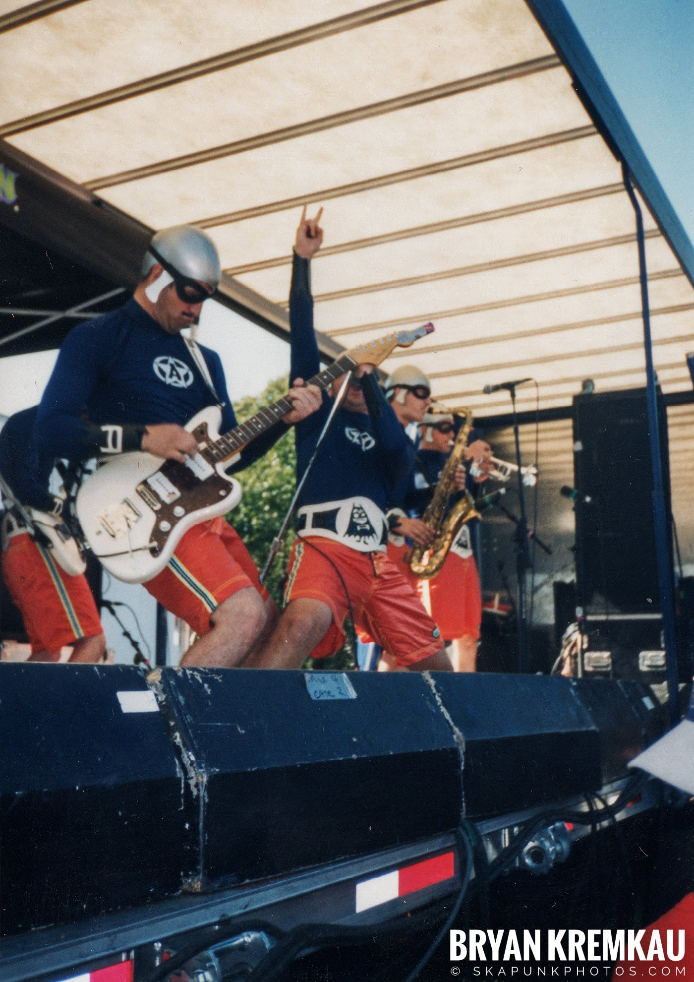 The Aquabats @ Vans Warped Tour, Randall's Island, NYC - 8.1.98 (15)
