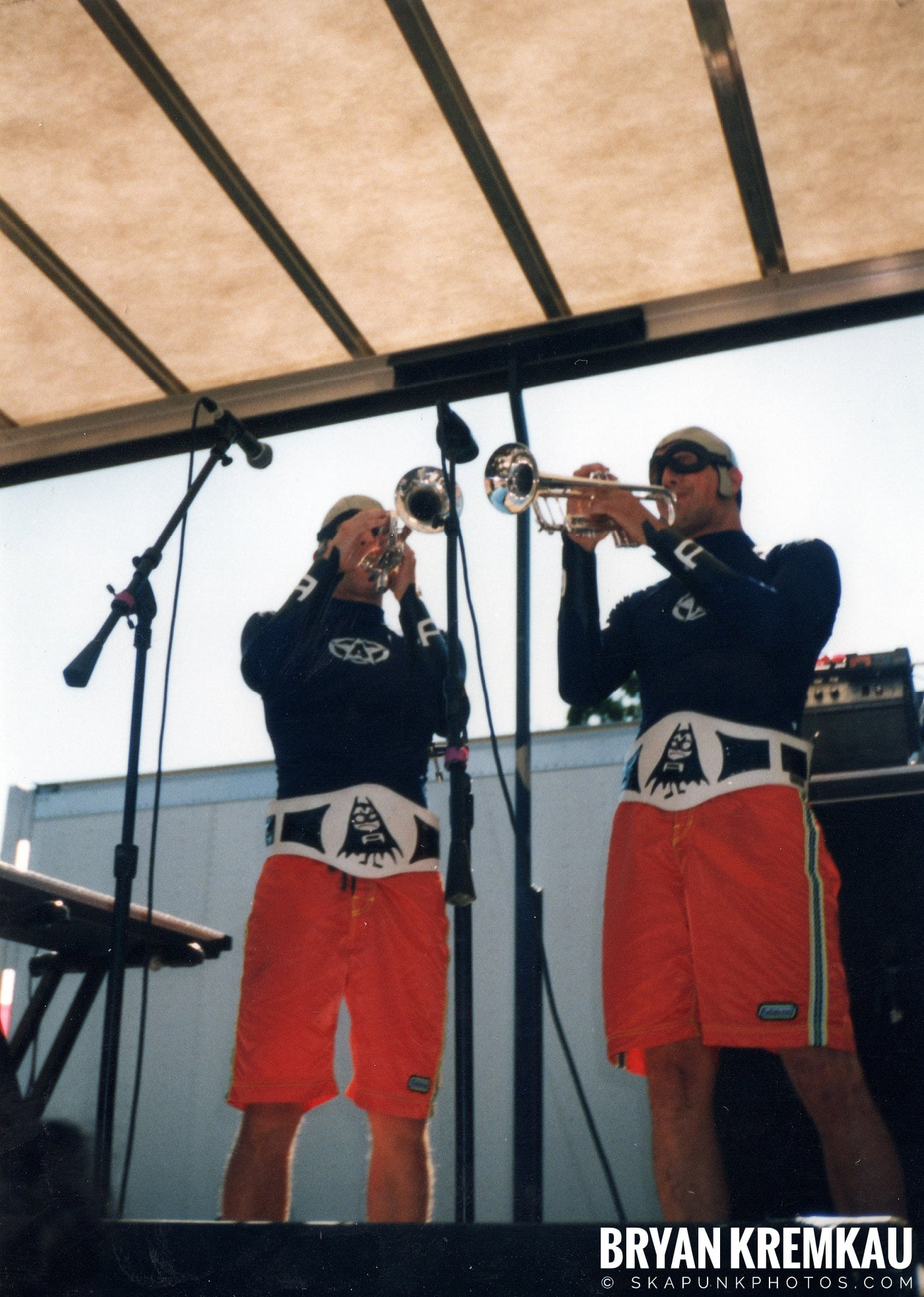 The Aquabats @ Vans Warped Tour, Randall's Island, NYC - 8.1.98 (14)