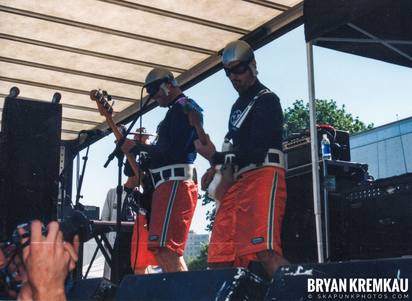 The Aquabats @ Vans Warped Tour, Randall's Island, NYC - 8.1.98 (12)