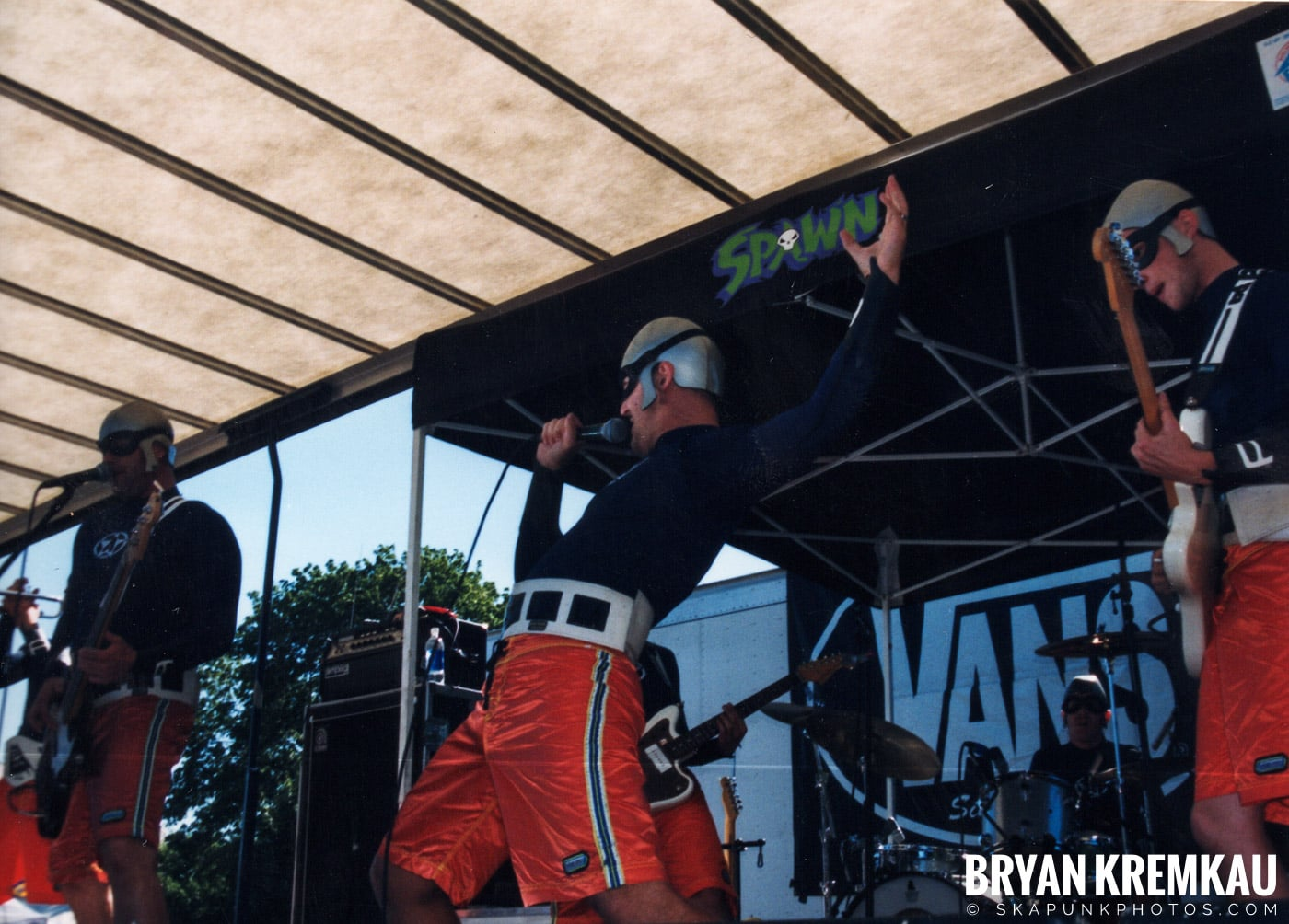The Aquabats @ Vans Warped Tour, Randall's Island, NYC - 8.1.98 (11)