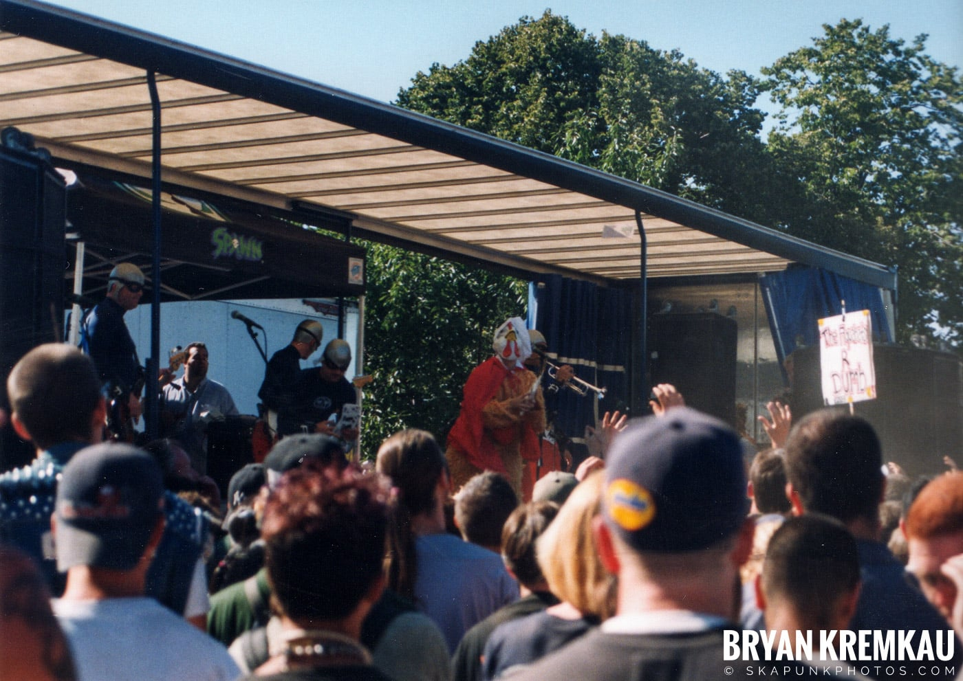 The Aquabats @ Vans Warped Tour, Randall's Island, NYC - 8.1.98 (9)