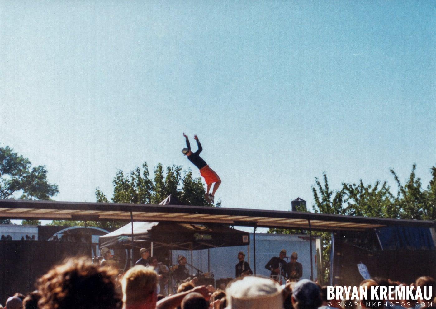 The Aquabats @ Vans Warped Tour, Randall's Island, NYC - 8.1.98 (8)