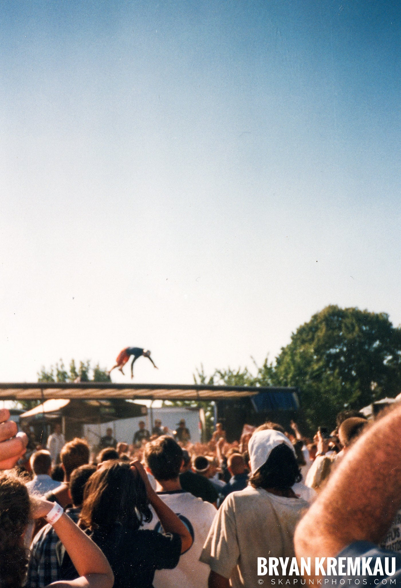 The Aquabats @ Vans Warped Tour, Randall's Island, NYC - 8.1.98 (6)