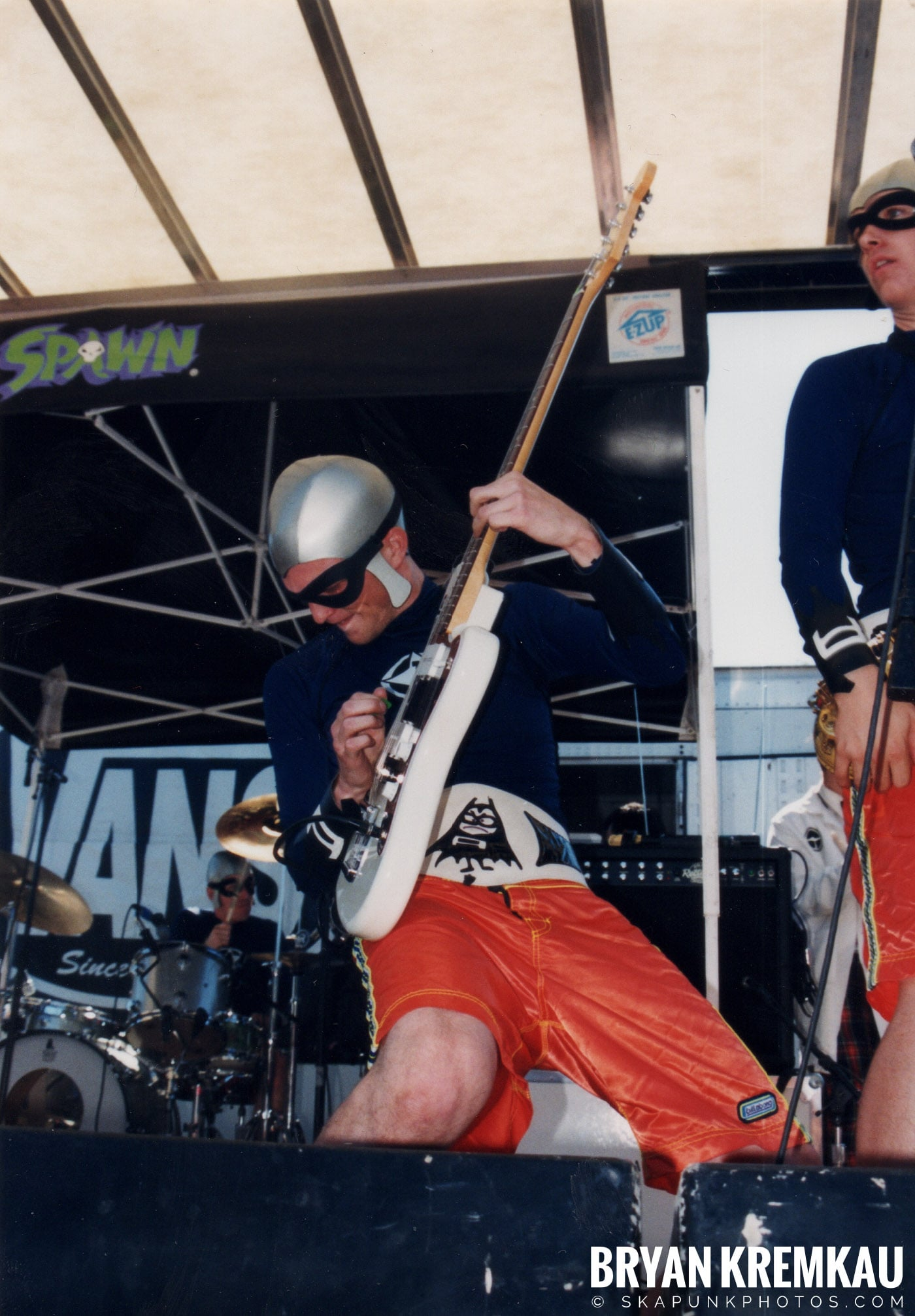 The Aquabats @ Vans Warped Tour, Randall's Island, NYC - 8.1.98 (5)