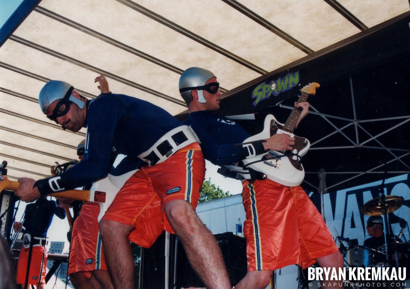 The Aquabats @ Vans Warped Tour, Randall's Island, NYC - 8.1.98 (4)