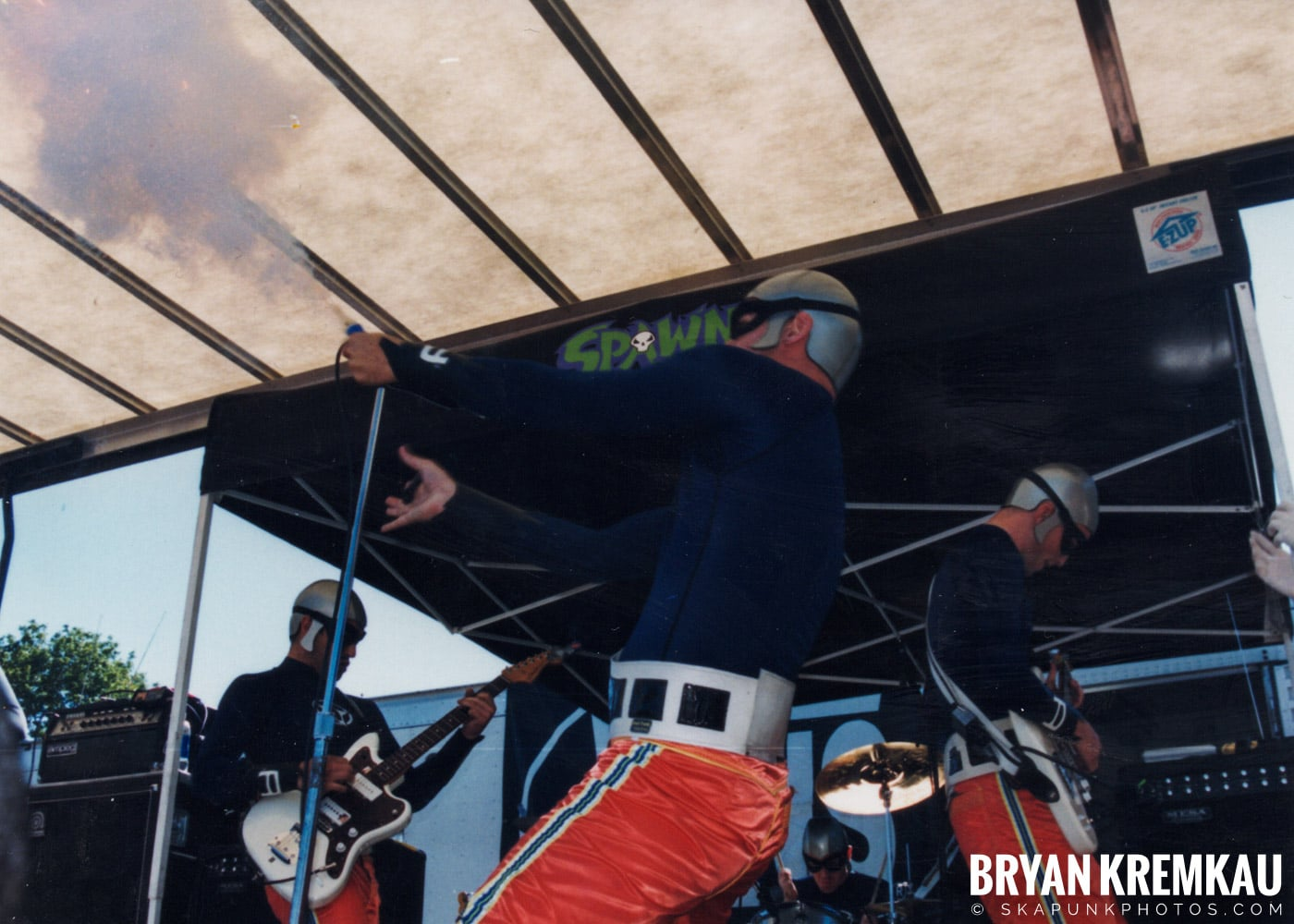 The Aquabats @ Vans Warped Tour, Randall's Island, NYC - 8.1.98 (3)