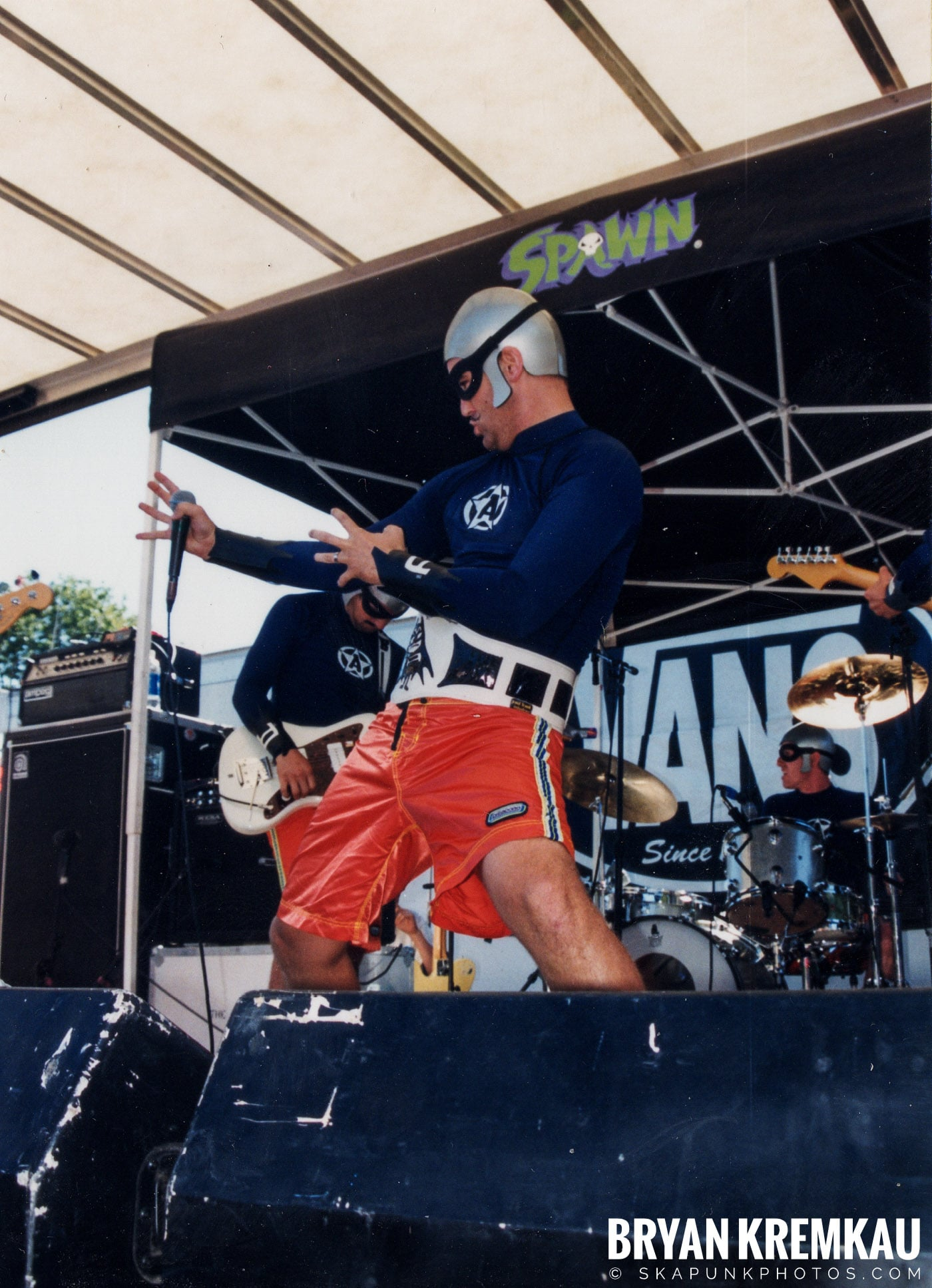 The Aquabats @ Vans Warped Tour, Randall's Island, NYC - 8.1.98 (2)
