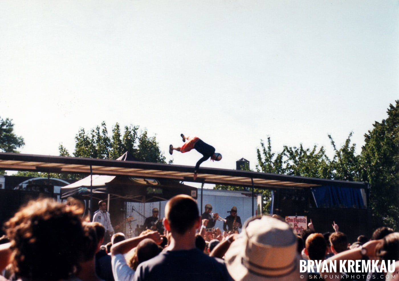 The Aquabats @ Vans Warped Tour, Randall's Island, NYC - 8.1.98 (1)