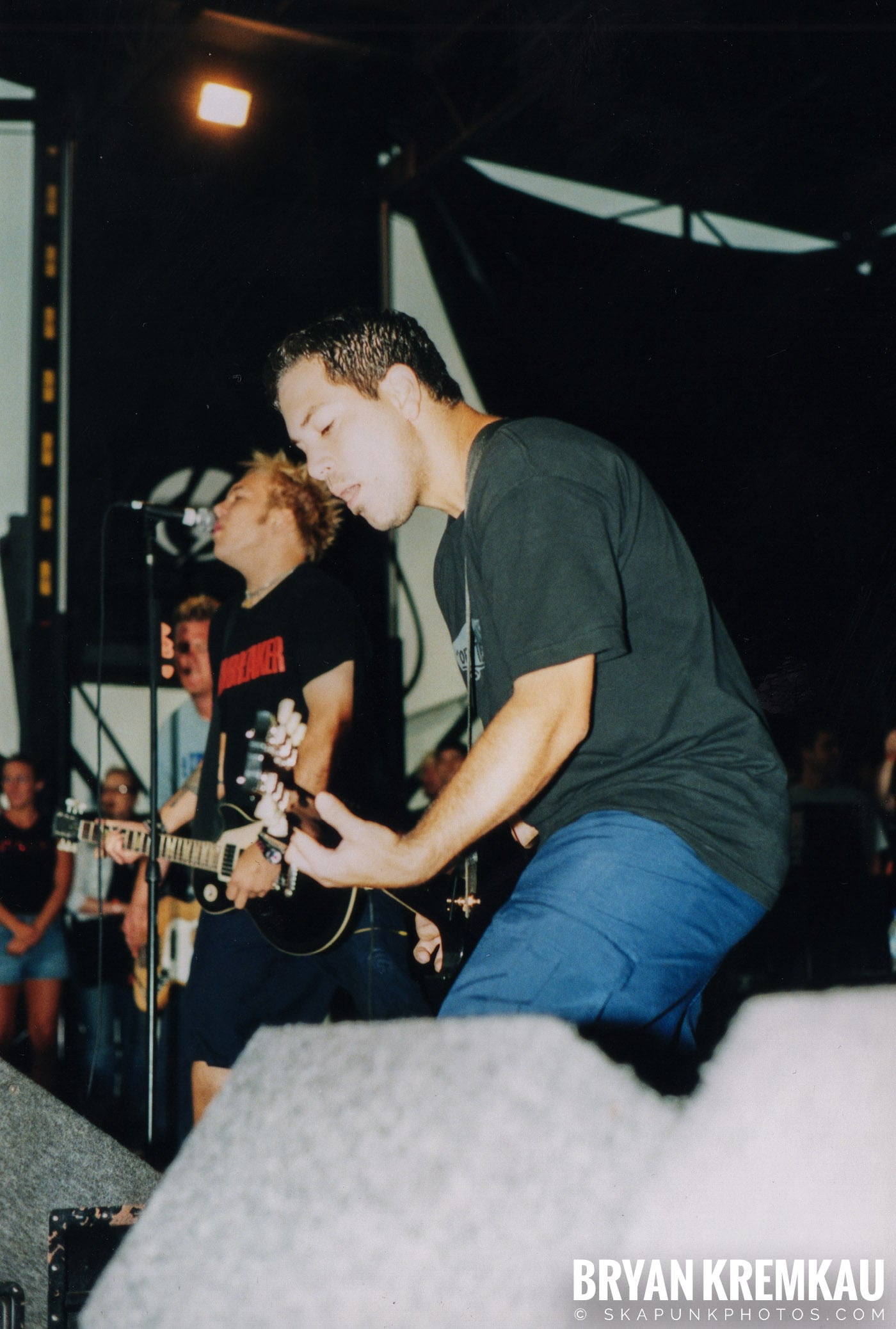 The Ataris @ Vans Warped Tour, Randall's Island, NYC - 8.4.01 (4)