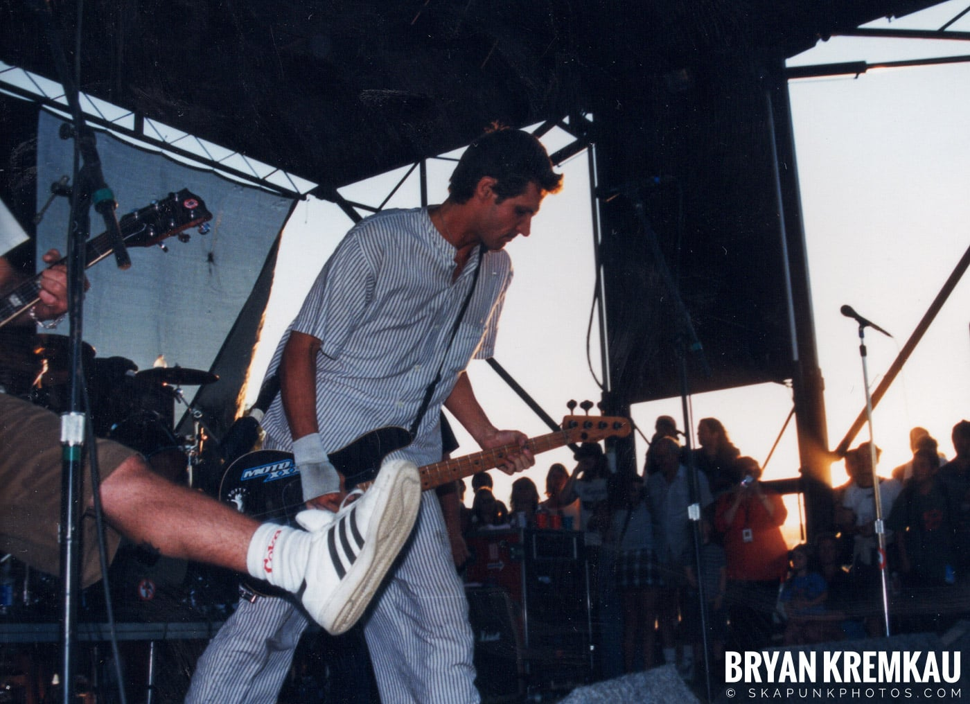 Bad Religion @ Vans Warped Tour, Randall's Island, NYC - 8.1.98 (6)