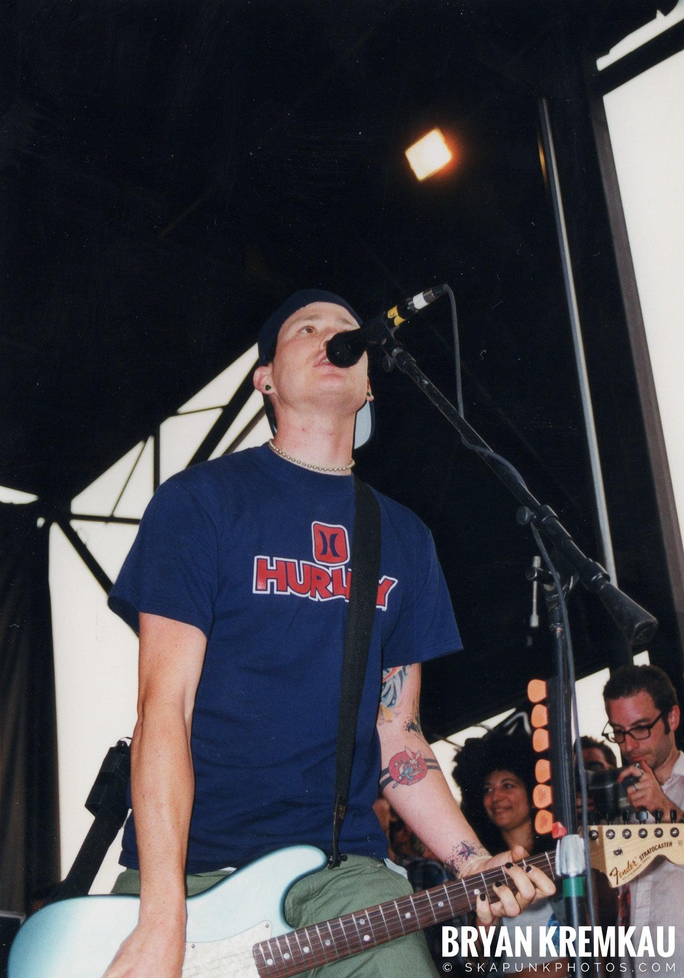 Blink-182 @ Vans Warped Tour, Randall's Island, NYC (16)