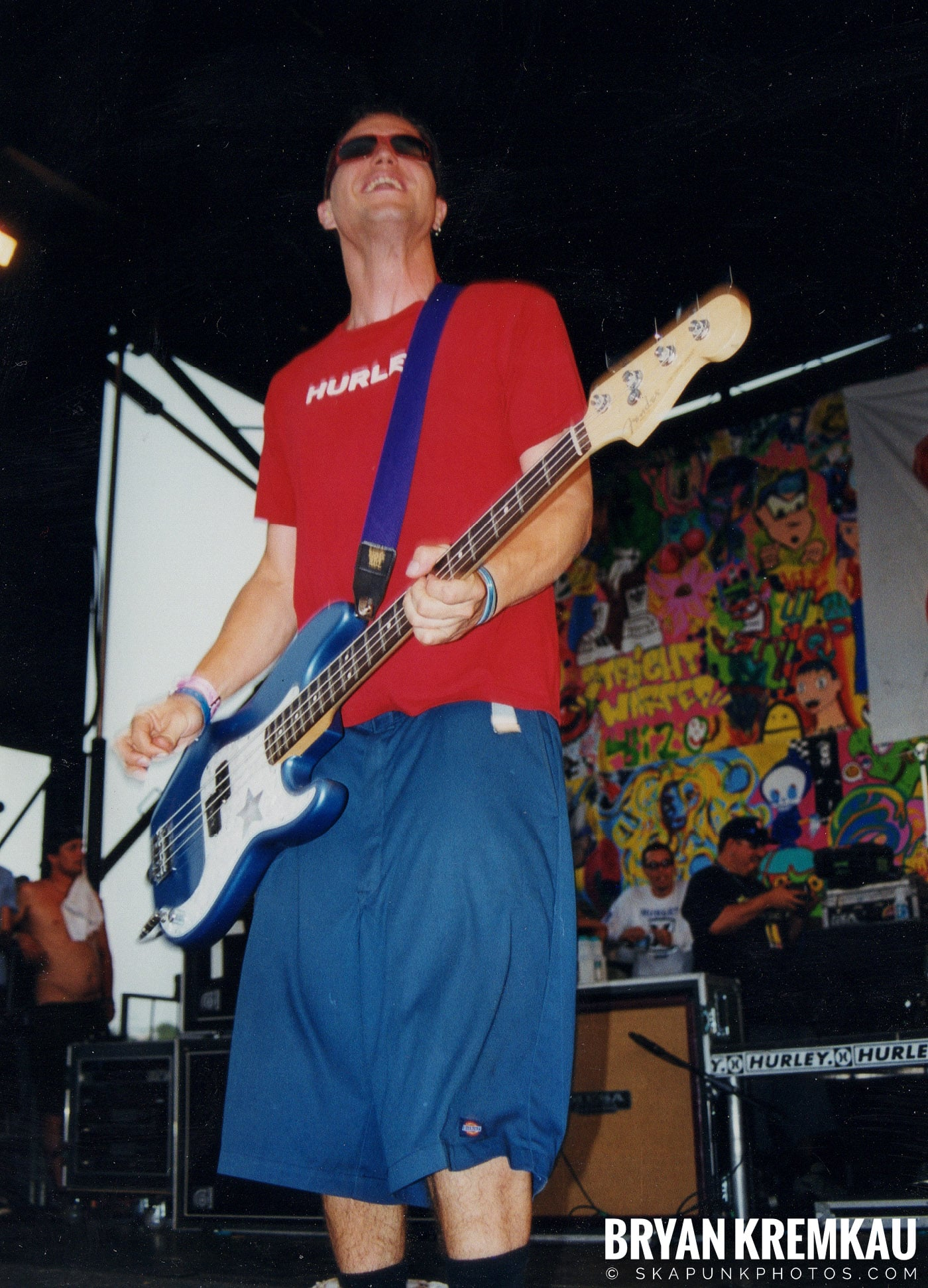 Blink-182 @ Vans Warped Tour, Randall's Island, NYC (15)