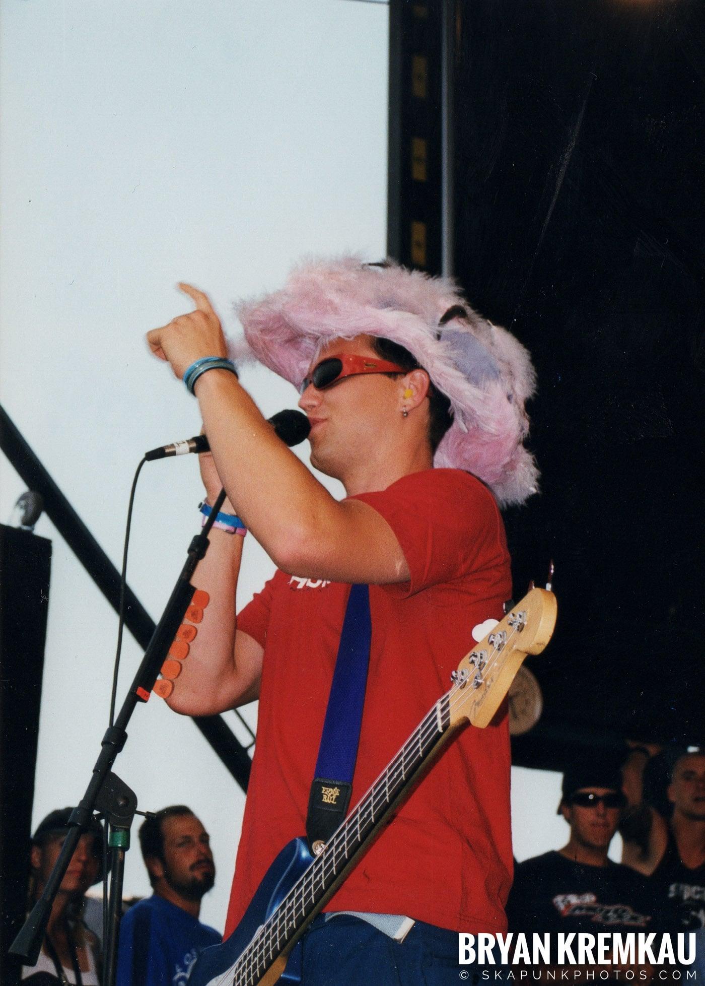 Blink-182 @ Vans Warped Tour, Randall's Island, NYC (10)