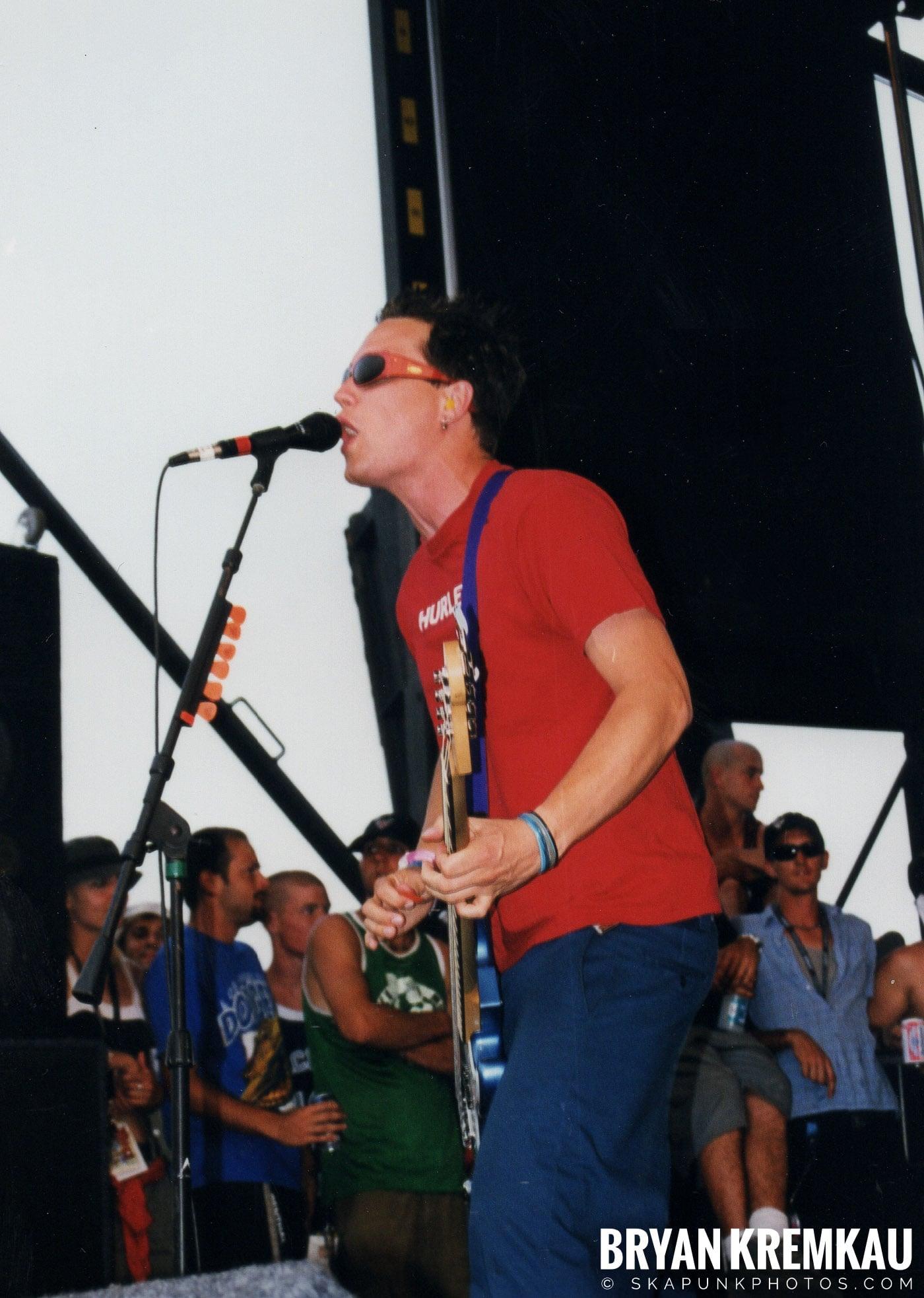 Blink-182 @ Vans Warped Tour, Randall's Island, NYC (7)