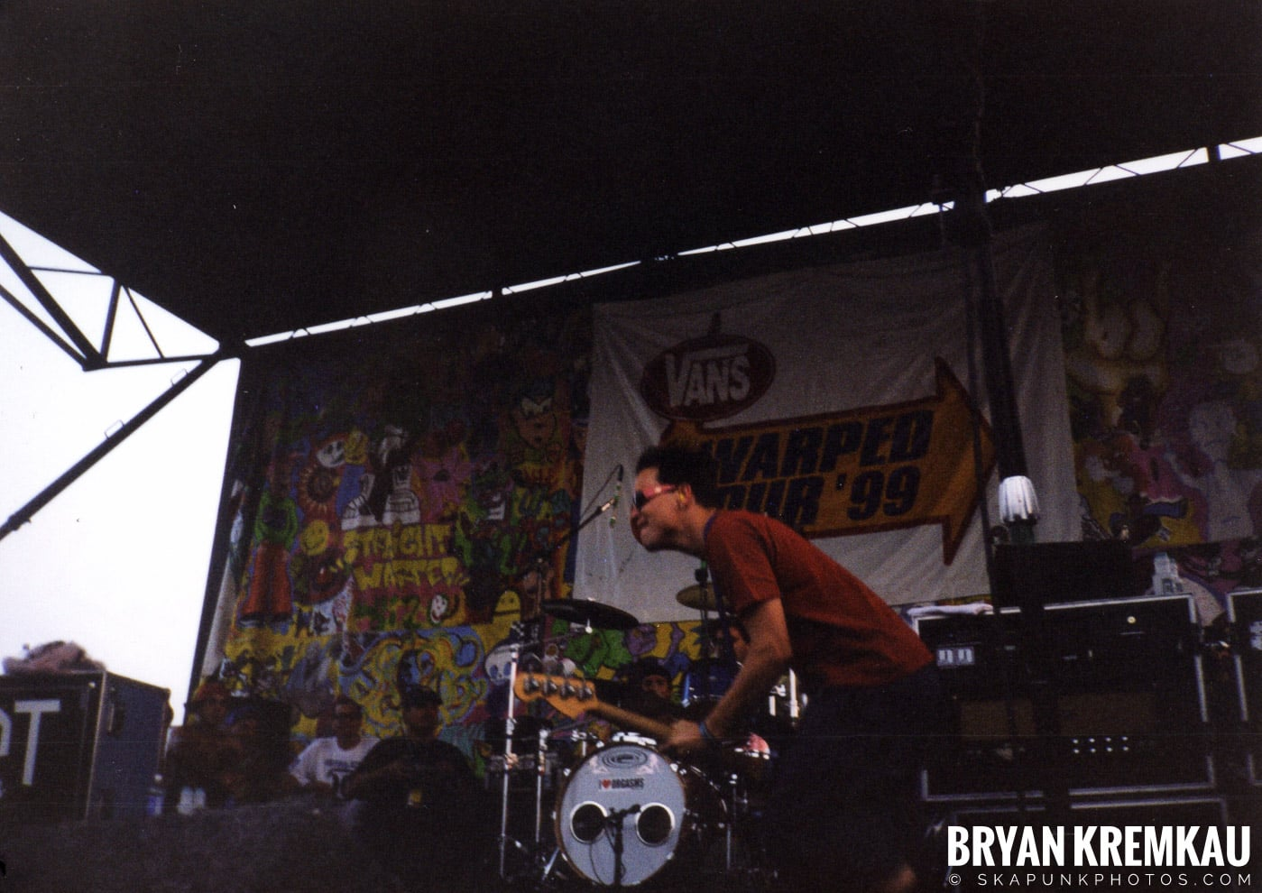 Blink-182 @ Vans Warped Tour, Randall's Island, NYC (2)
