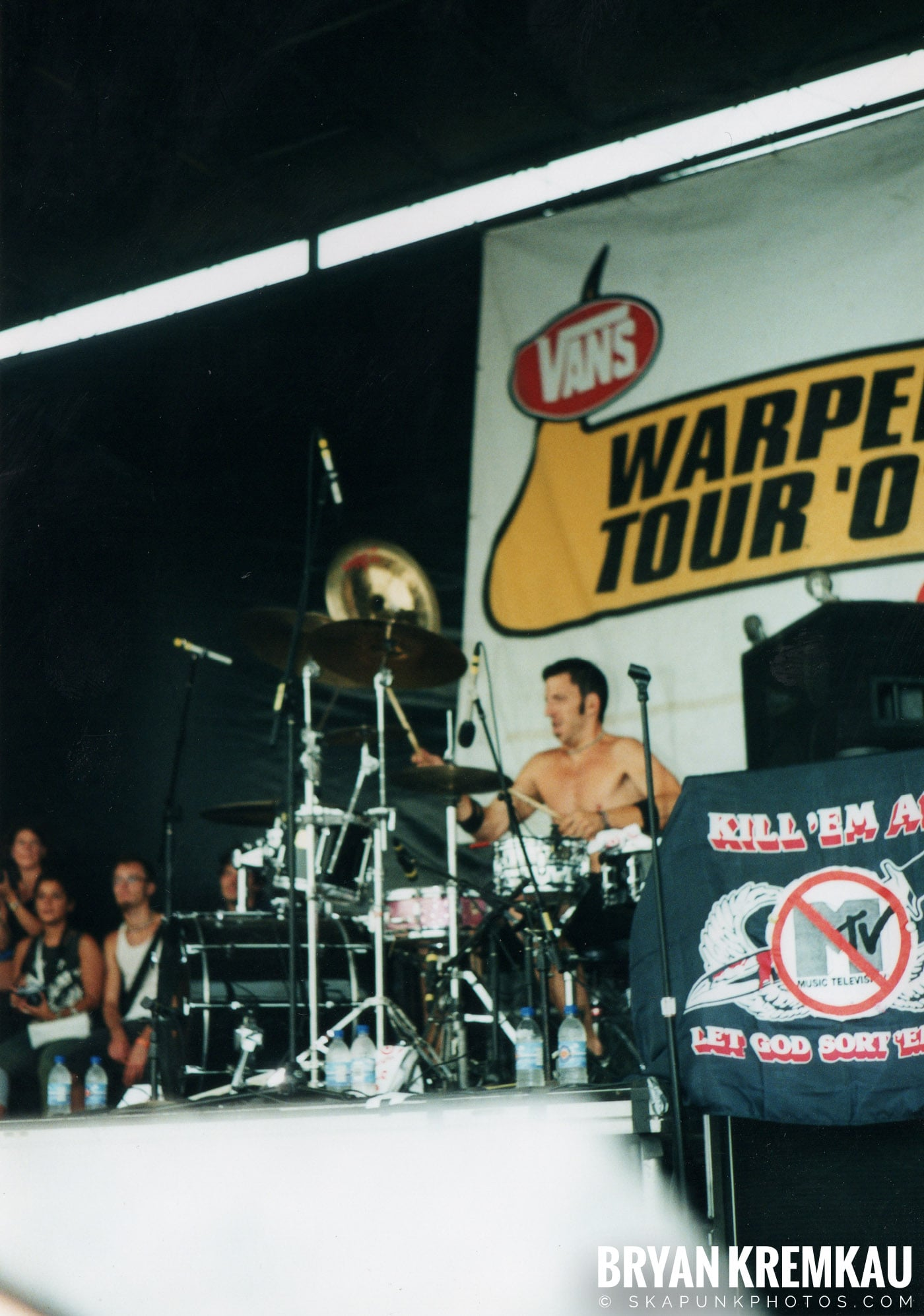 The Bouncing Souls @ Vans Warped Tour, Randall's Island, NYC - 8.4.01 (16)