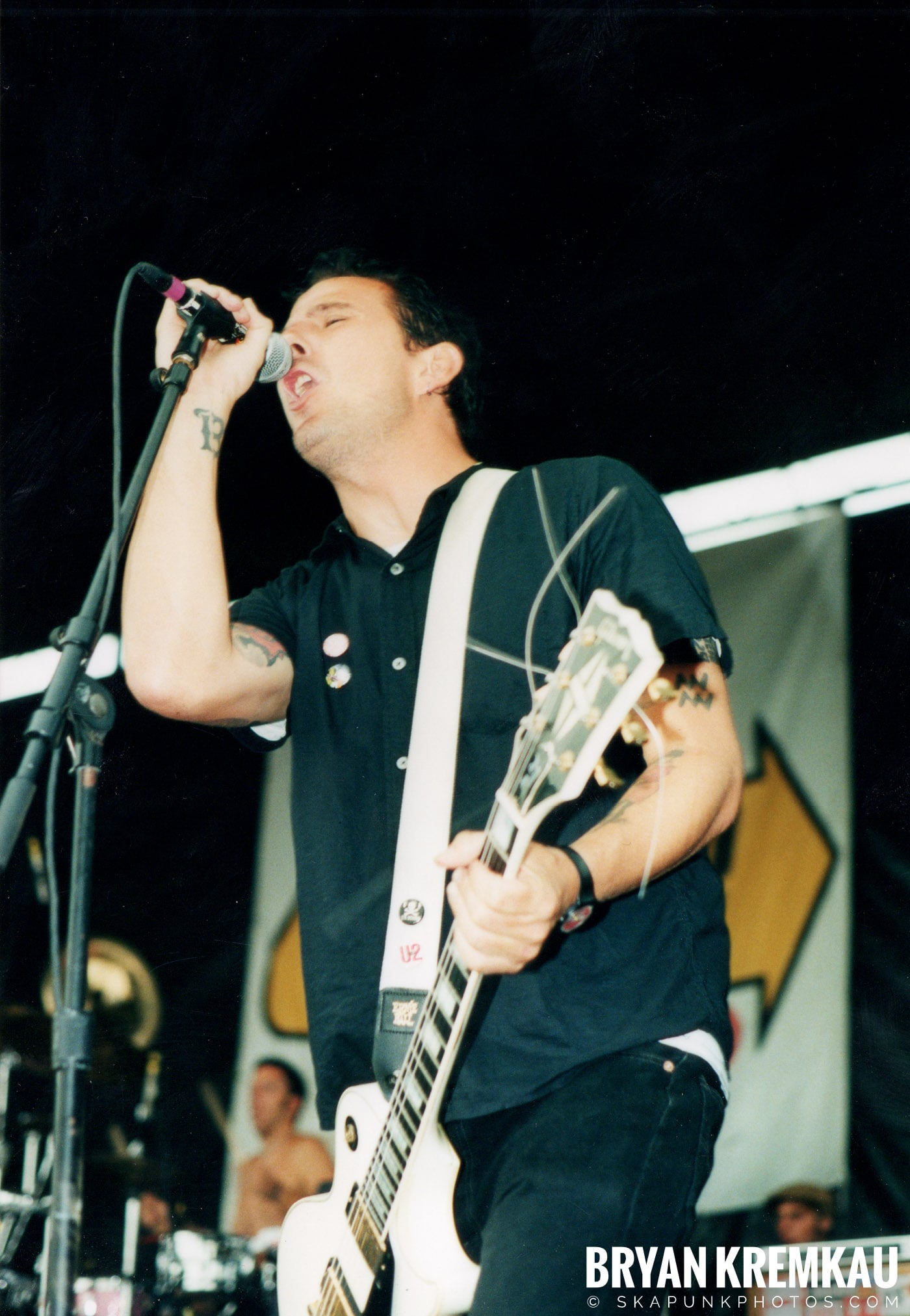 The Bouncing Souls @ Vans Warped Tour, Randall's Island, NYC - 8.4.01 (13)