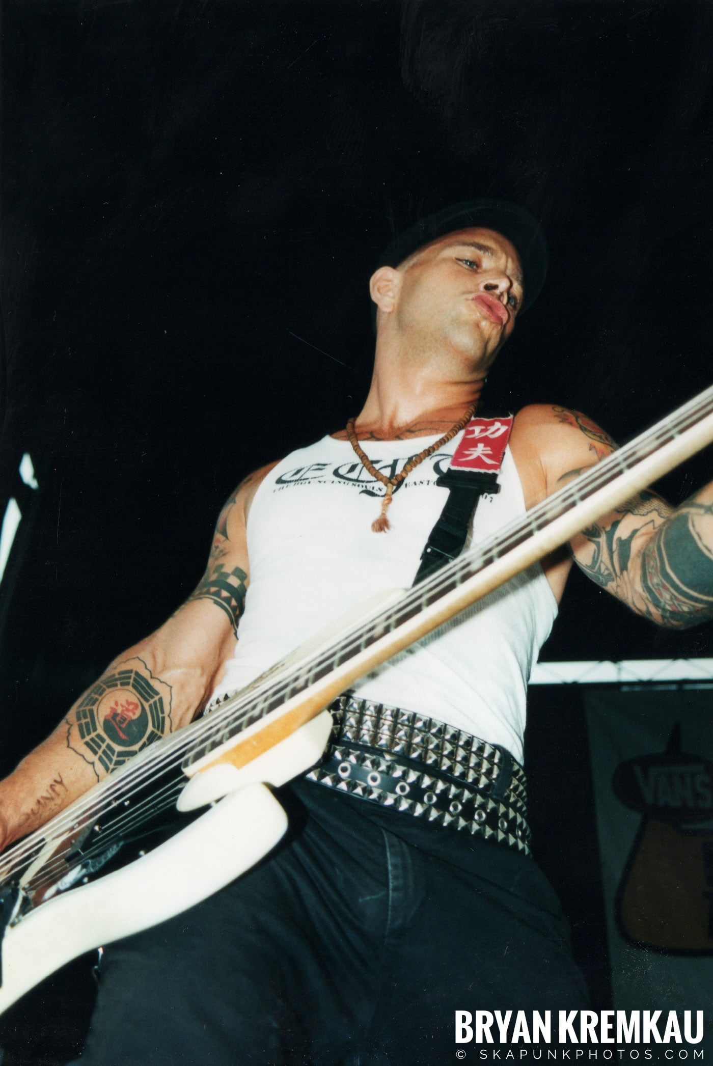 The Bouncing Souls @ Vans Warped Tour, Randall's Island, NYC - 8.4.01 (8)