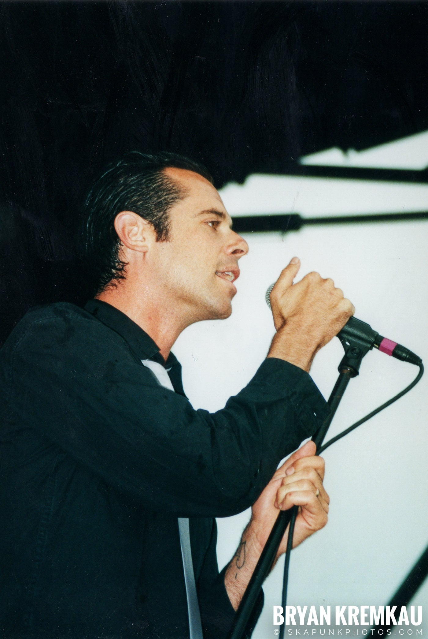 The Bouncing Souls @ Vans Warped Tour, Randall's Island, NYC - 8.4.01 (3)