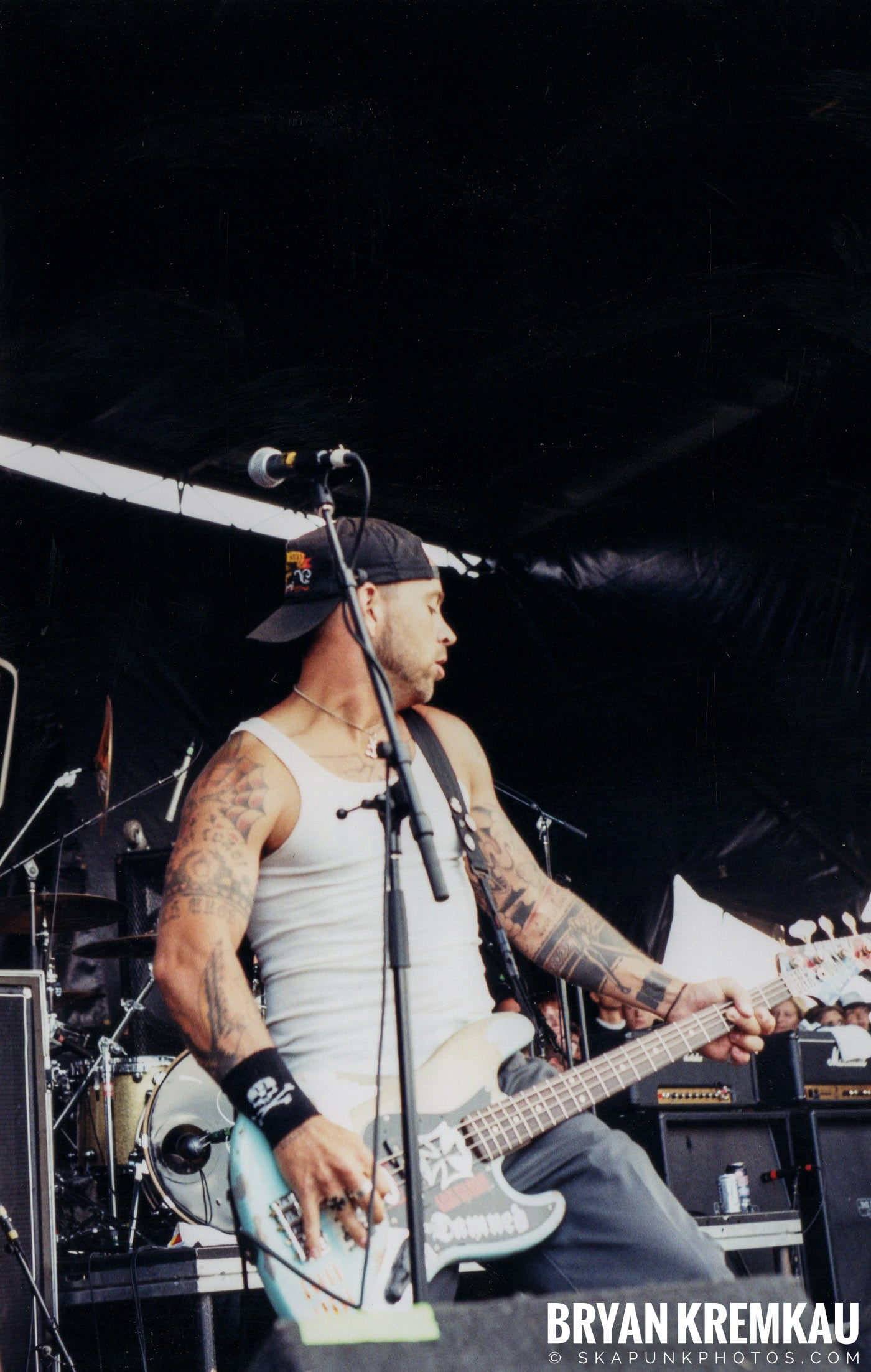 The Bouncing Souls @ Vans Warped Tour, Randall's Island, NYC - 8.7.04 (21)