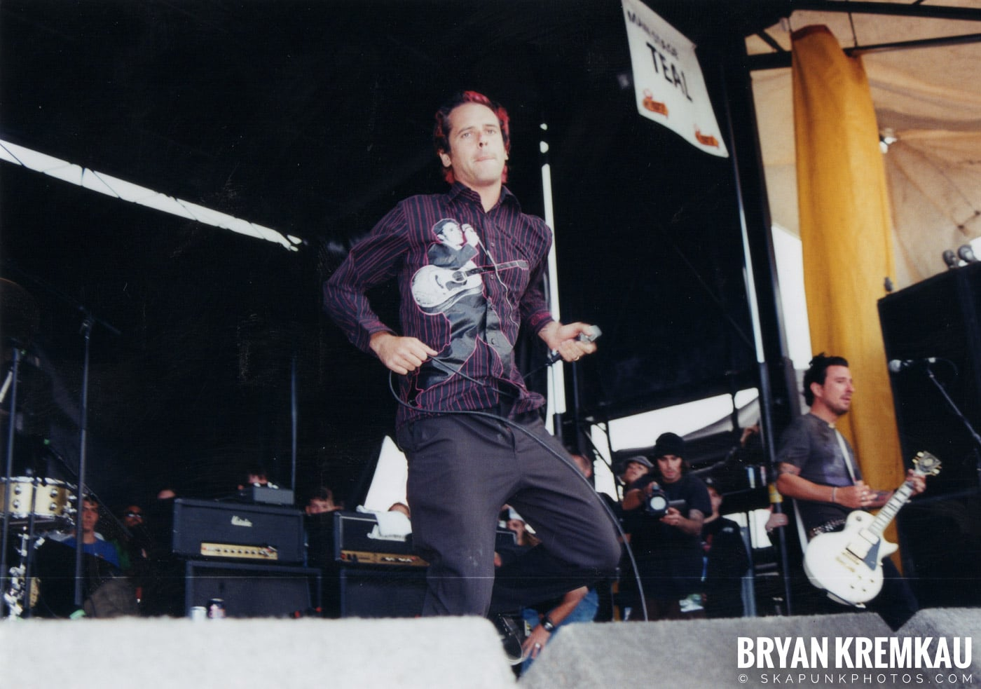 The Bouncing Souls @ Vans Warped Tour, Randall's Island, NYC - 8.7.04 (16)
