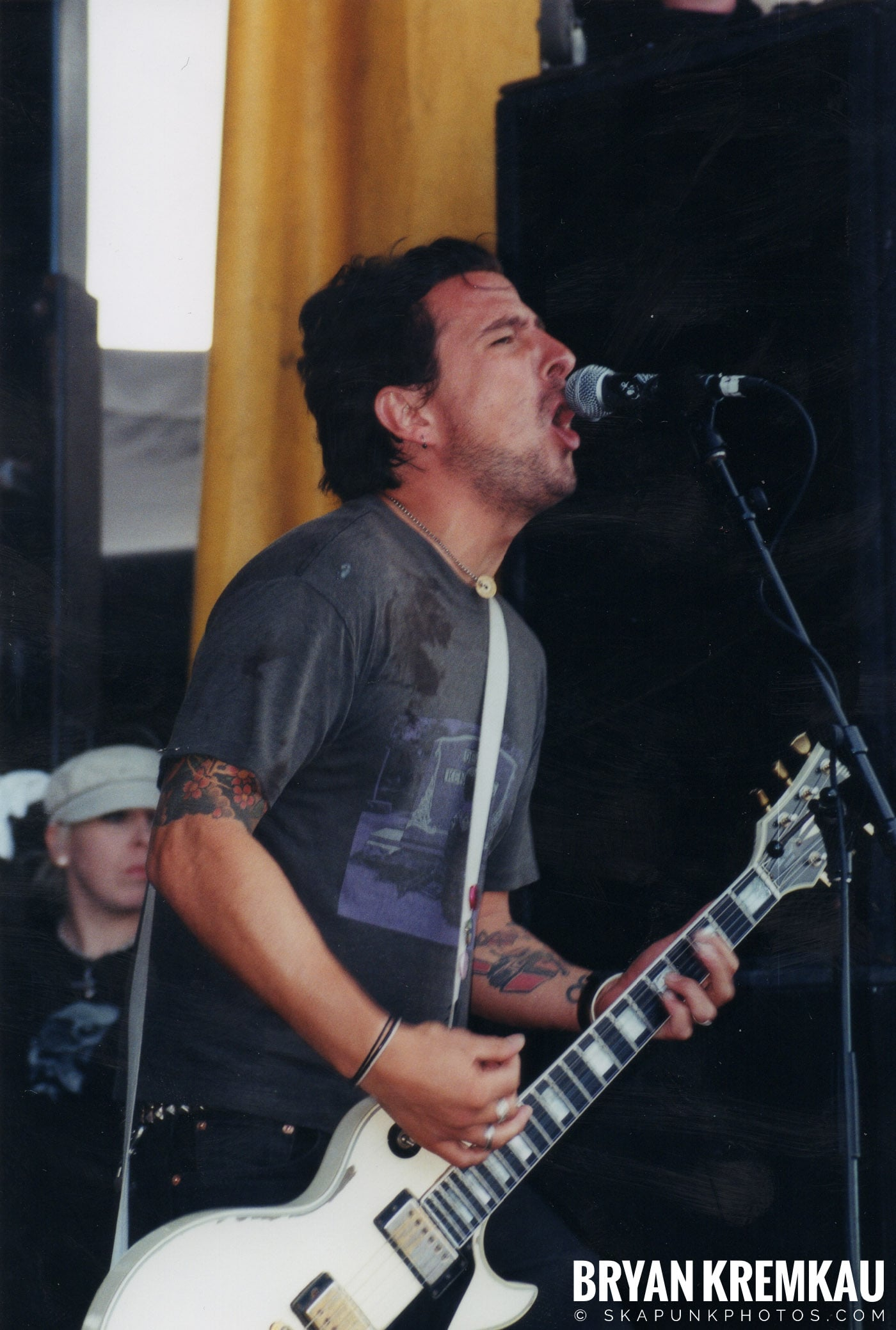 The Bouncing Souls @ Vans Warped Tour, Randall's Island, NYC - 8.7.04 (11)