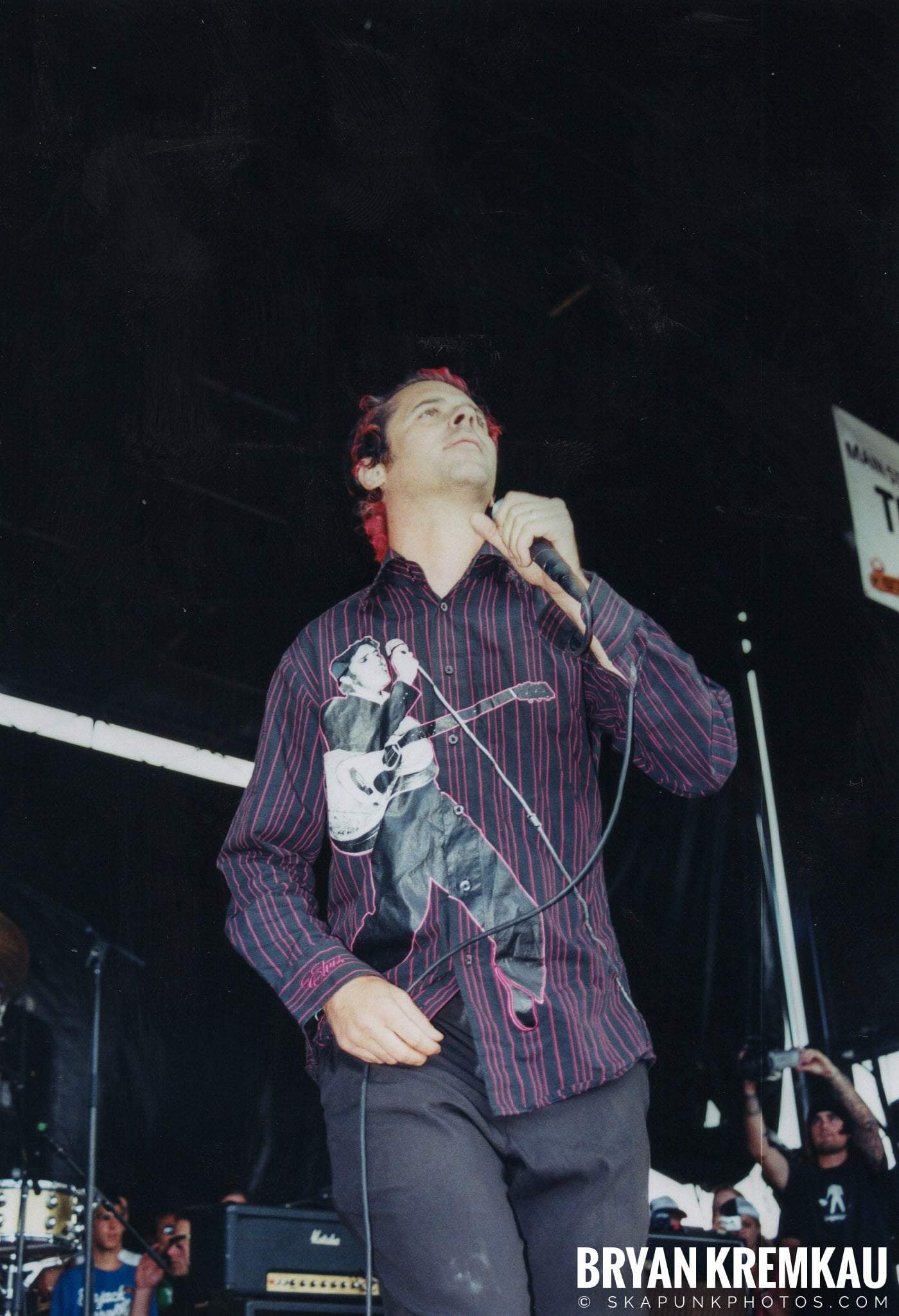 The Bouncing Souls @ Vans Warped Tour, Randall's Island, NYC - 8.7.04 (8)