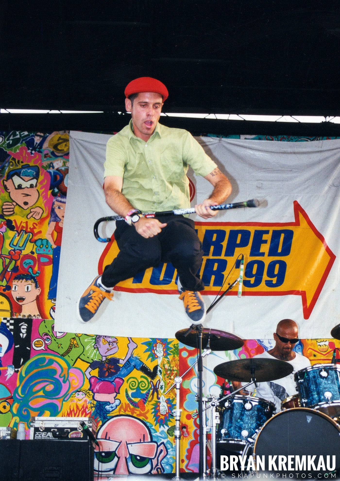 The Bouncing Souls @ Vans Warped Tour, Randall's Island, NYC - 7.16.99 (15)