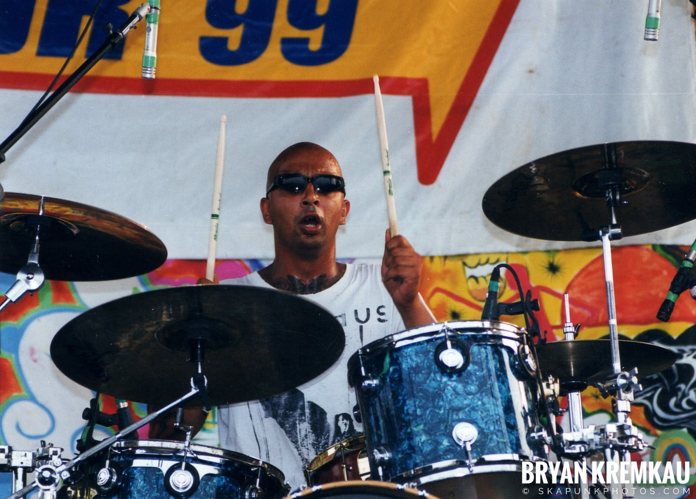 The Bouncing Souls @ Vans Warped Tour, Randall's Island, NYC - 7.16.99 (10)