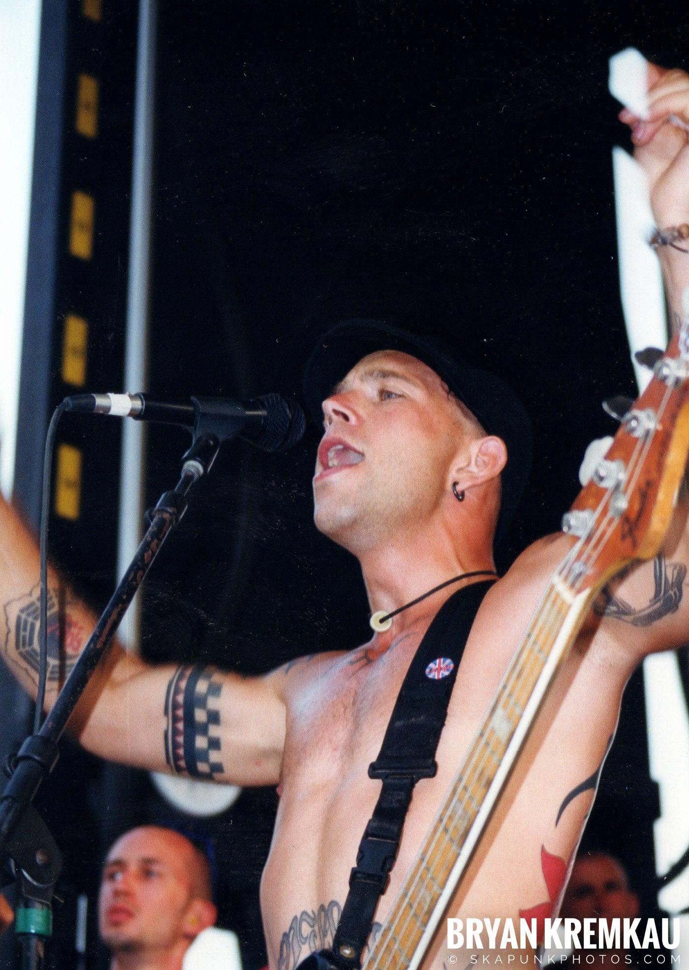 The Bouncing Souls @ Vans Warped Tour, Randall's Island, NYC - 7.16.99 (9)